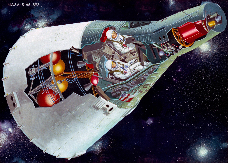 From Mercury Mark II to Project Gemini