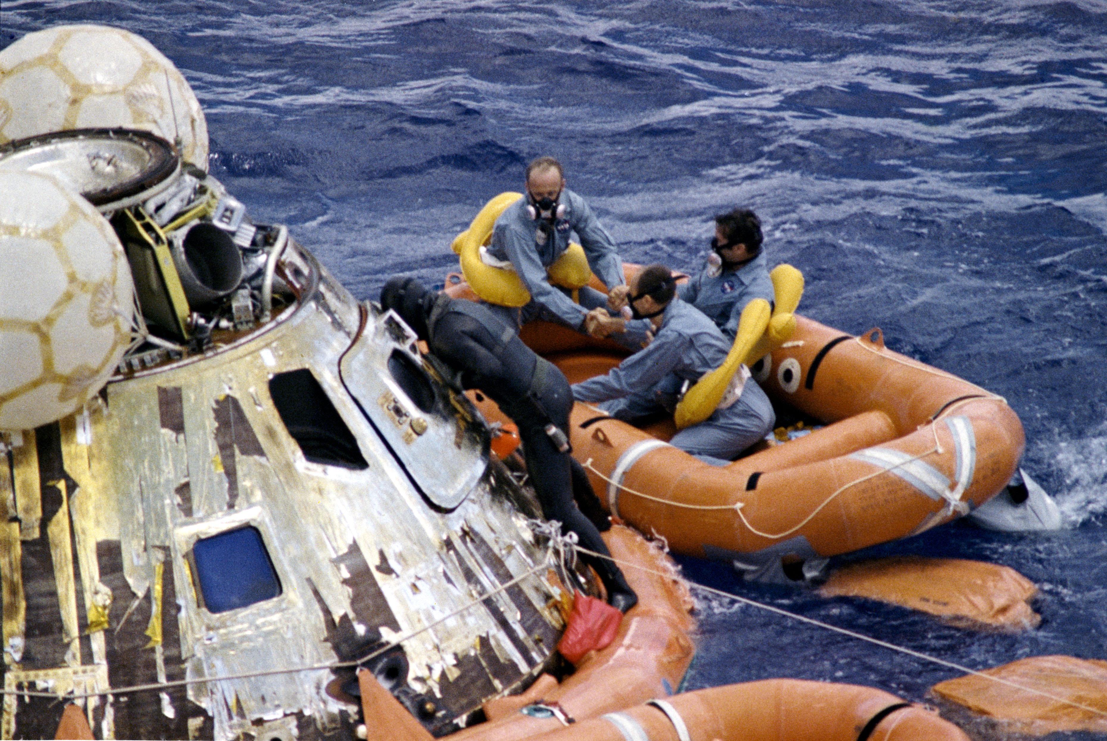 Apollo 12 Splashdown