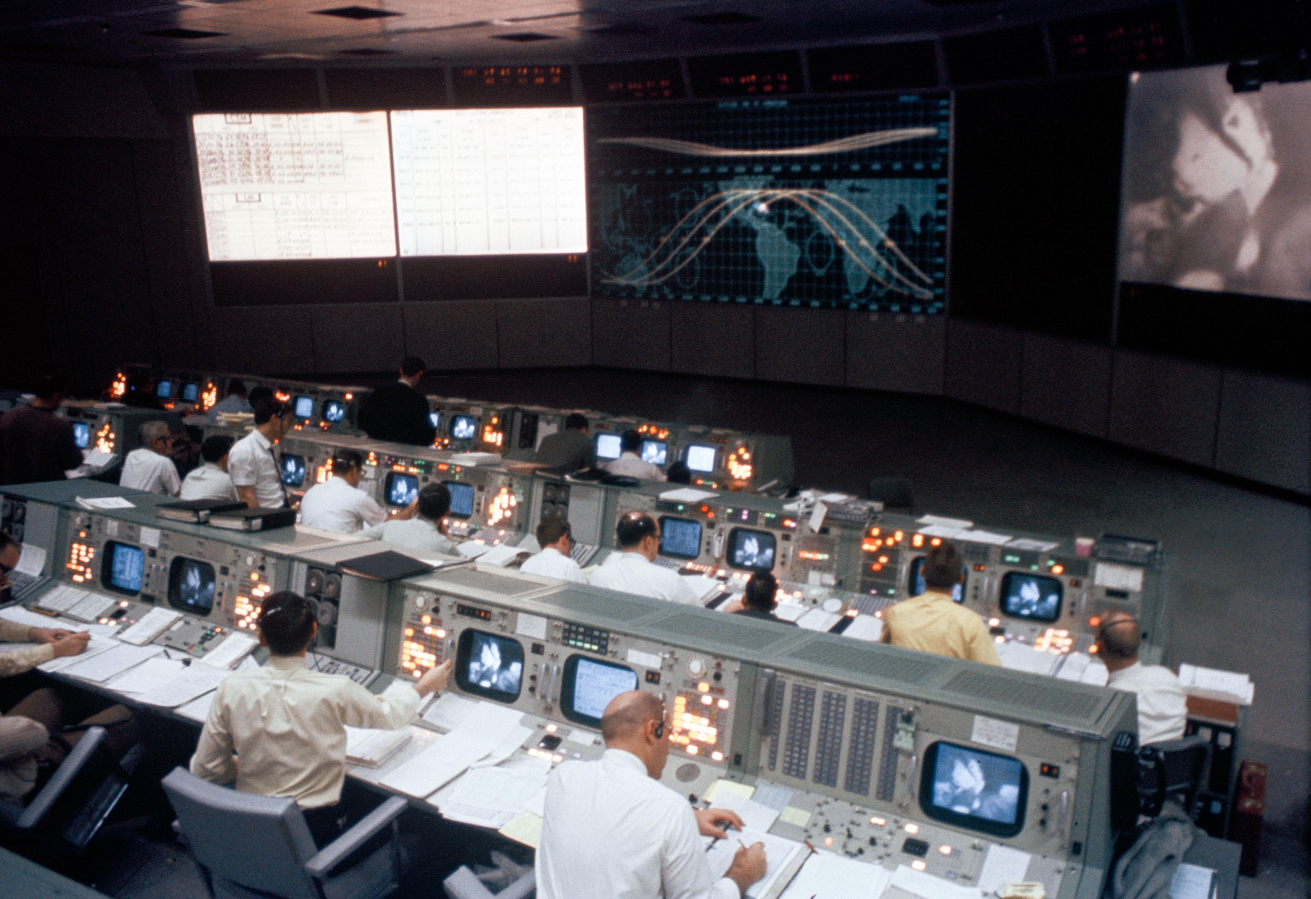 Apollo Mission Control Center   NASA