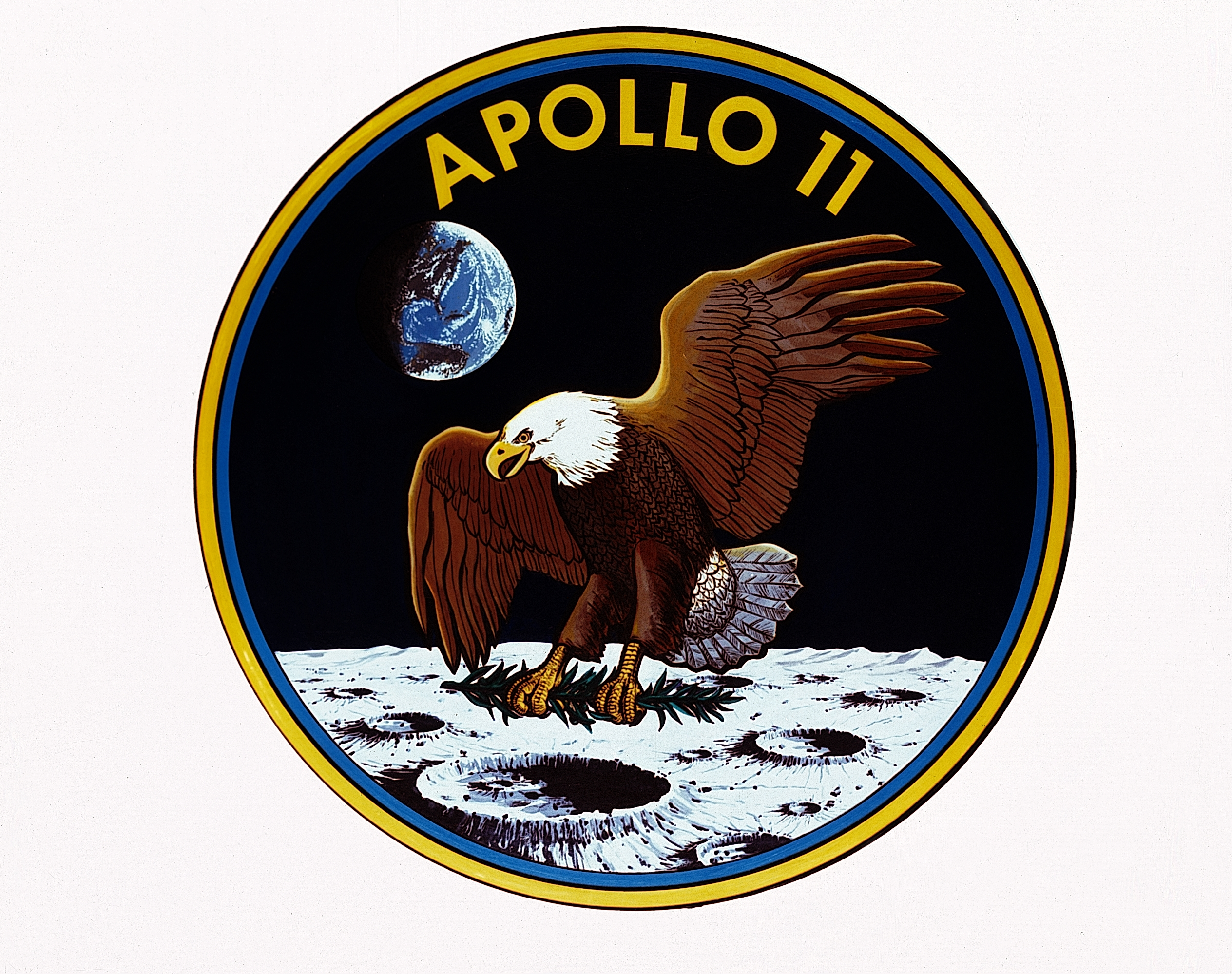 The Making Of The Apollo 11 Mission Patch Nasa