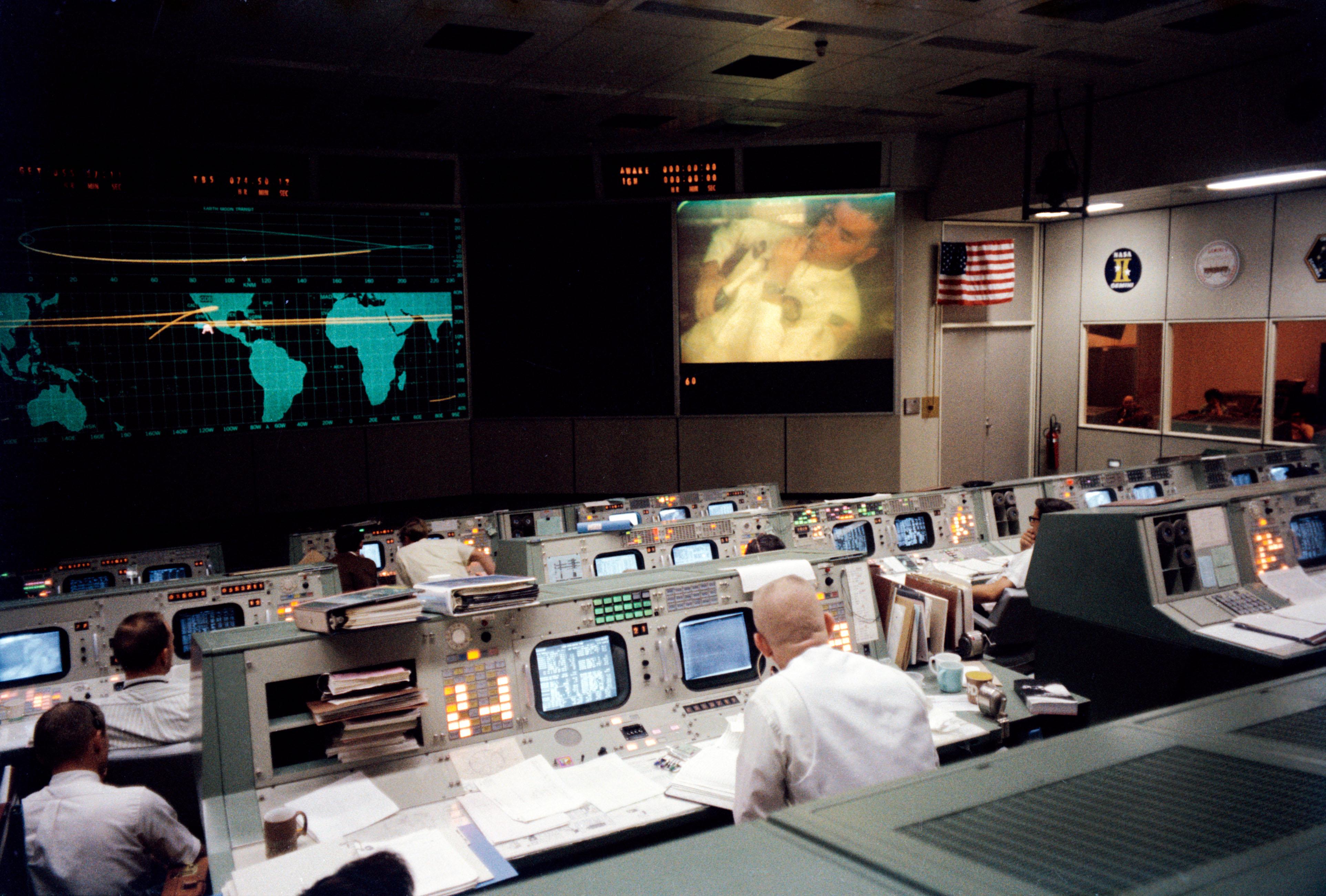 Mission Control, Houston, April 13, 1970 | NASA