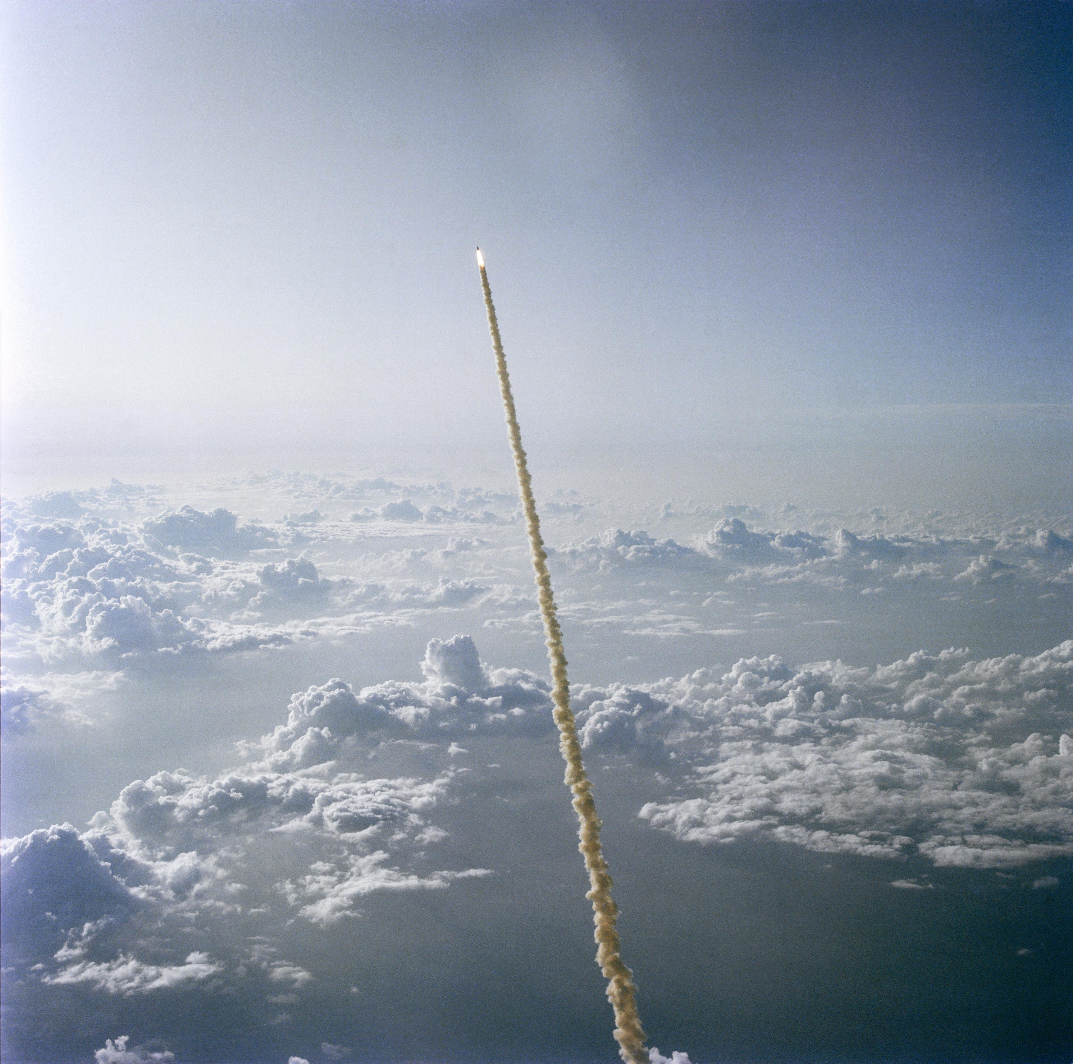 Through the Clouds | NASA
