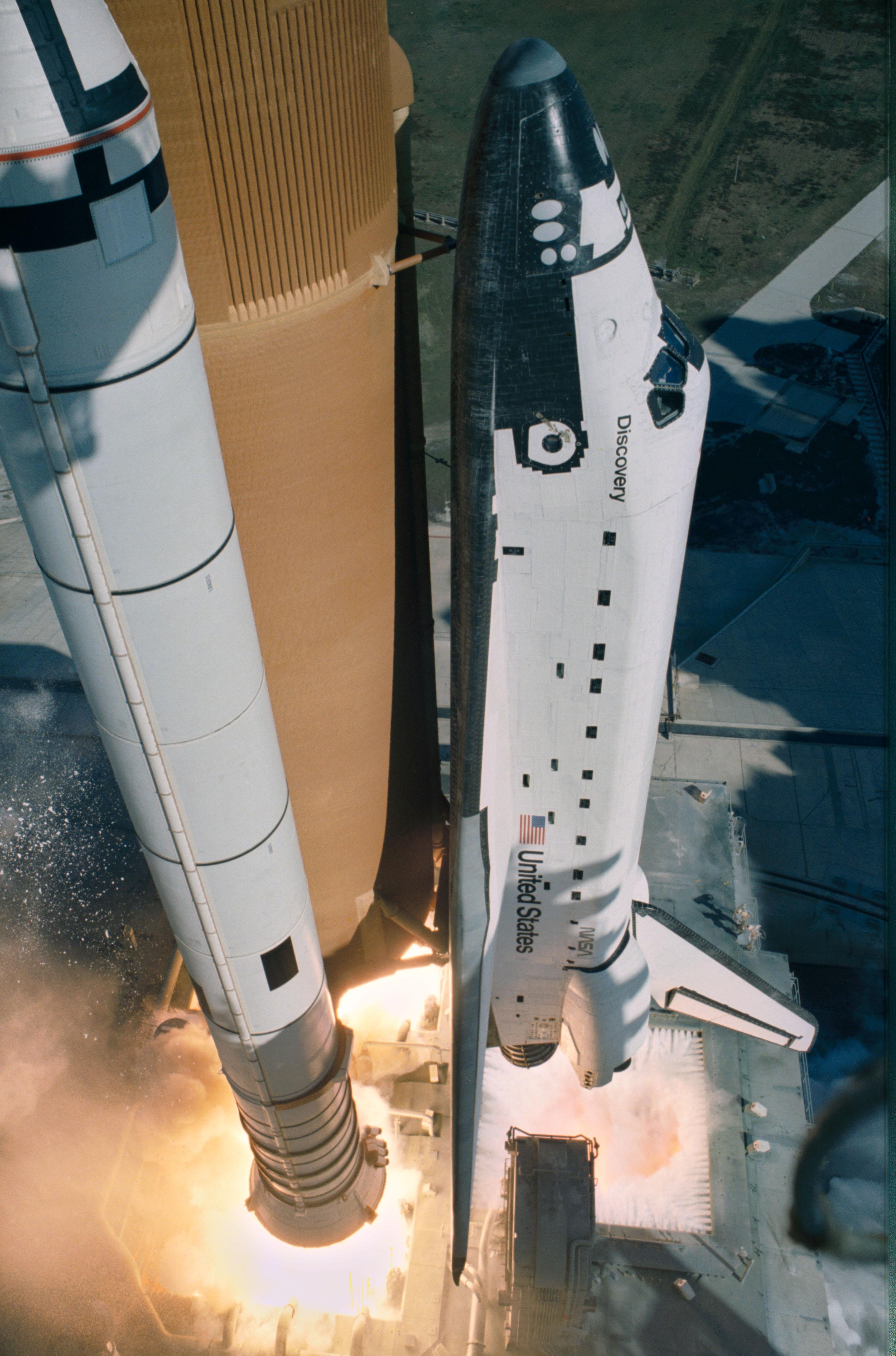 This Week in NASA History: STS-51C Launches – Jan. 24, 1985 - NASA
