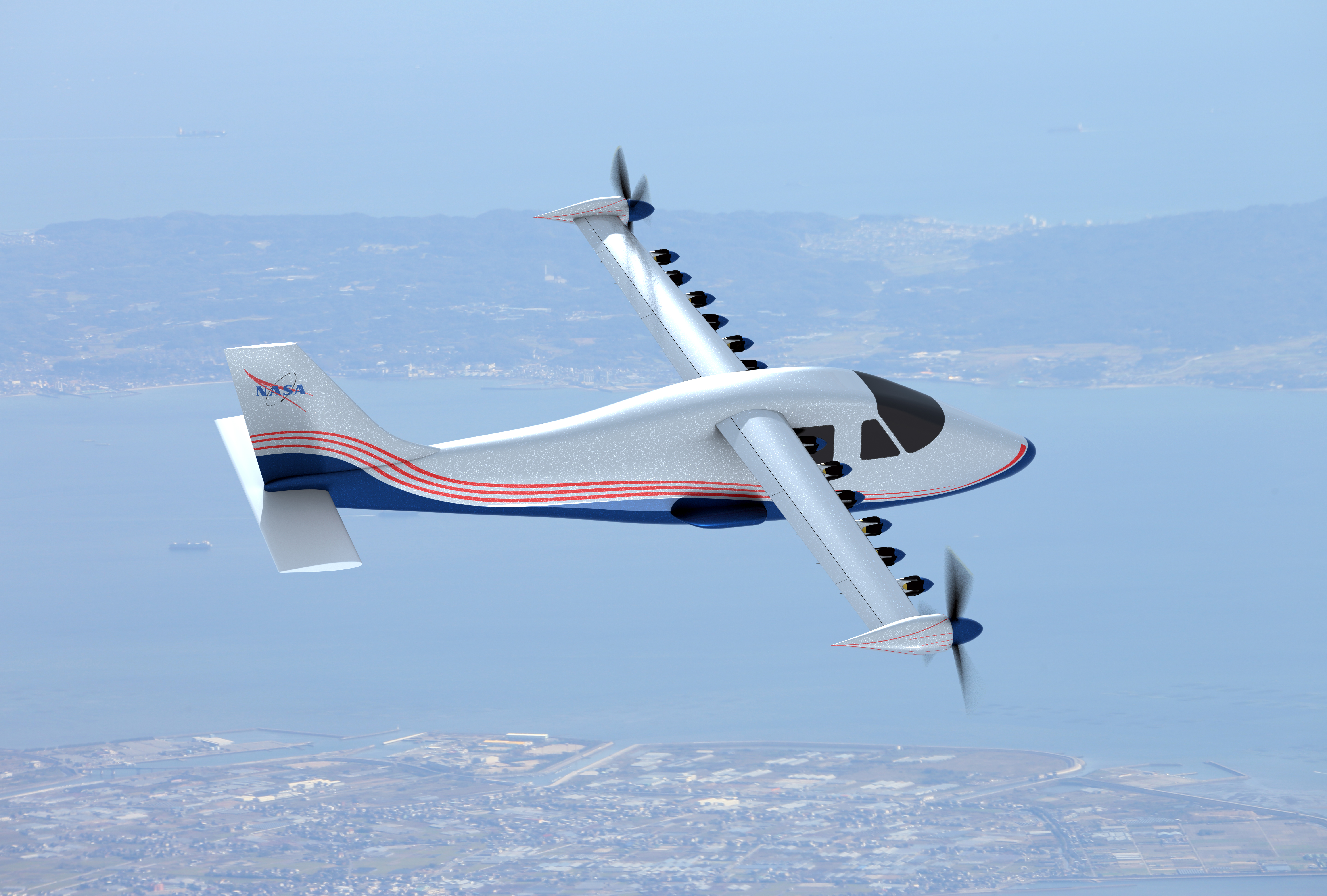 NASA Electric Research Plane Gets X Number New Name