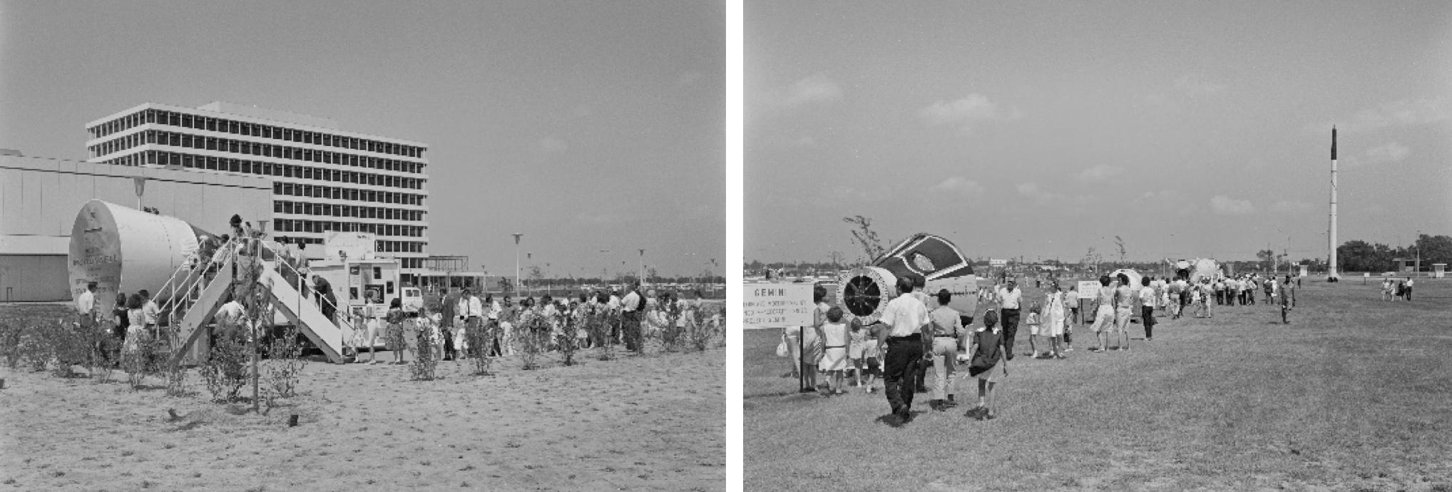 1964: NASA's First Open House in Houston   NASA