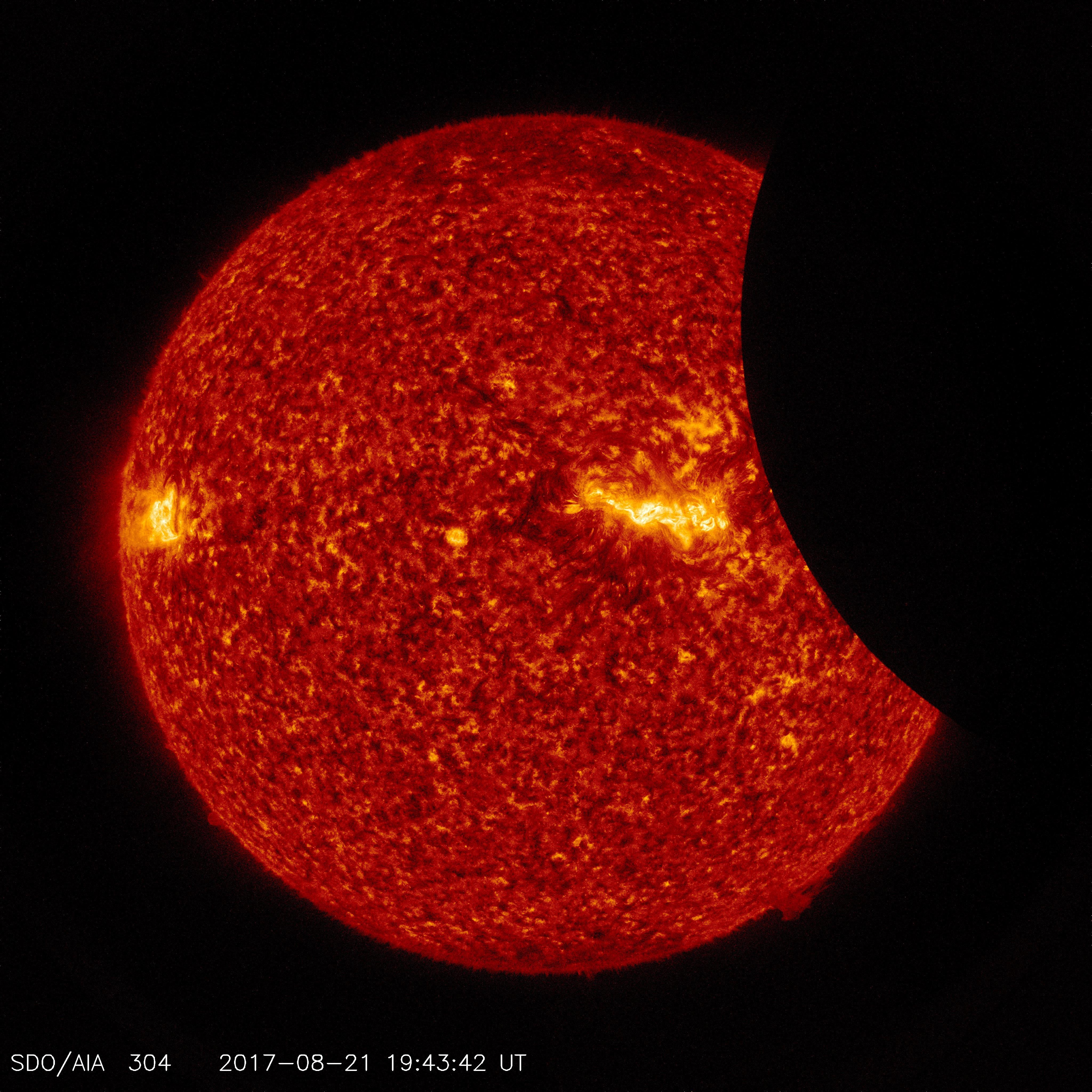 SDO Views 2017 Solar Eclipse | NASA