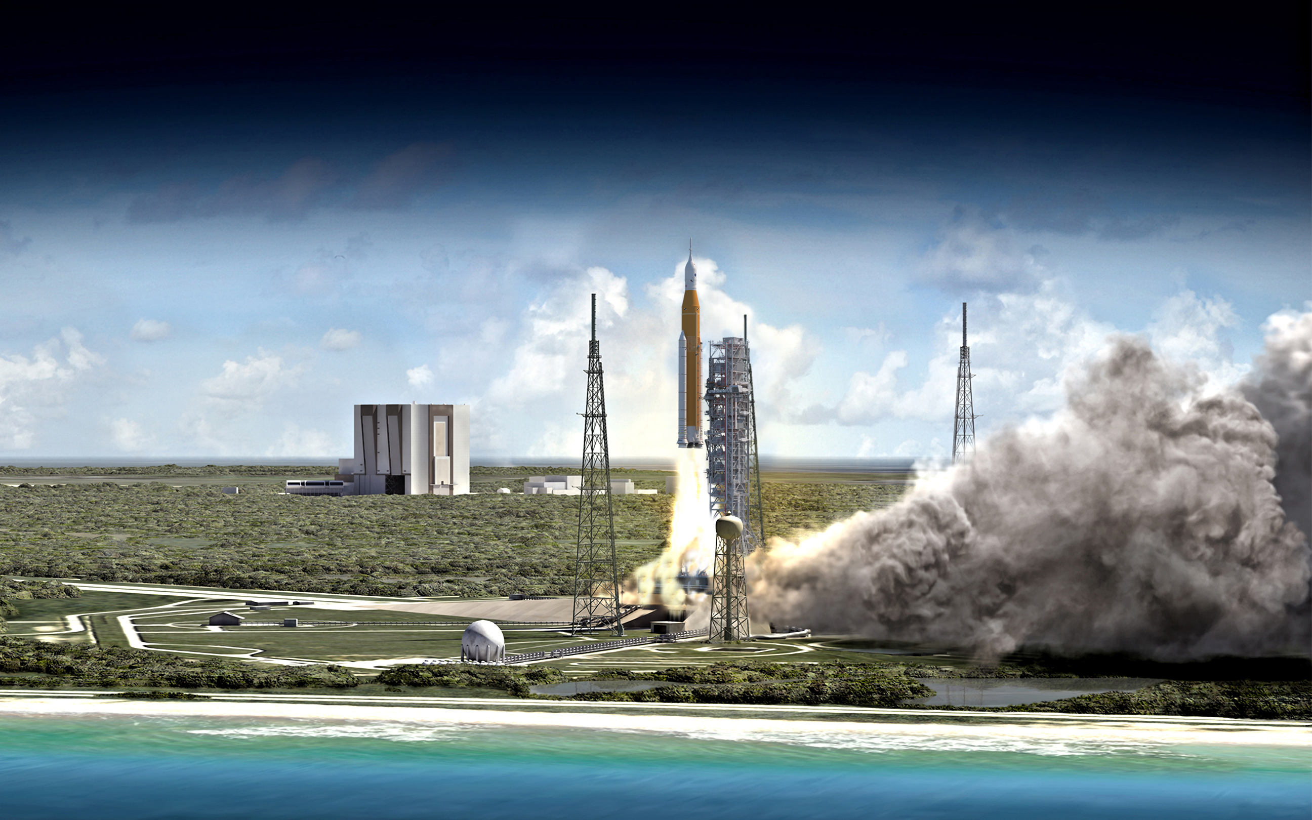 nasa satellite launch today - HD 5840×3285