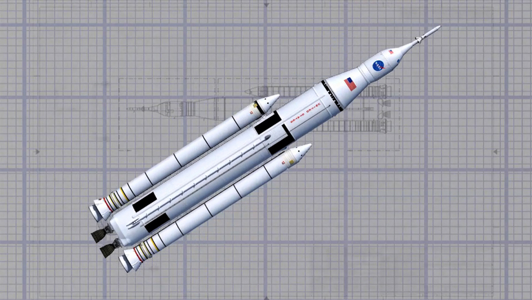 NASA Launch Vehicles and Spacecraft: Discussion & News - Page 3 Sls_wireframe_1_1041