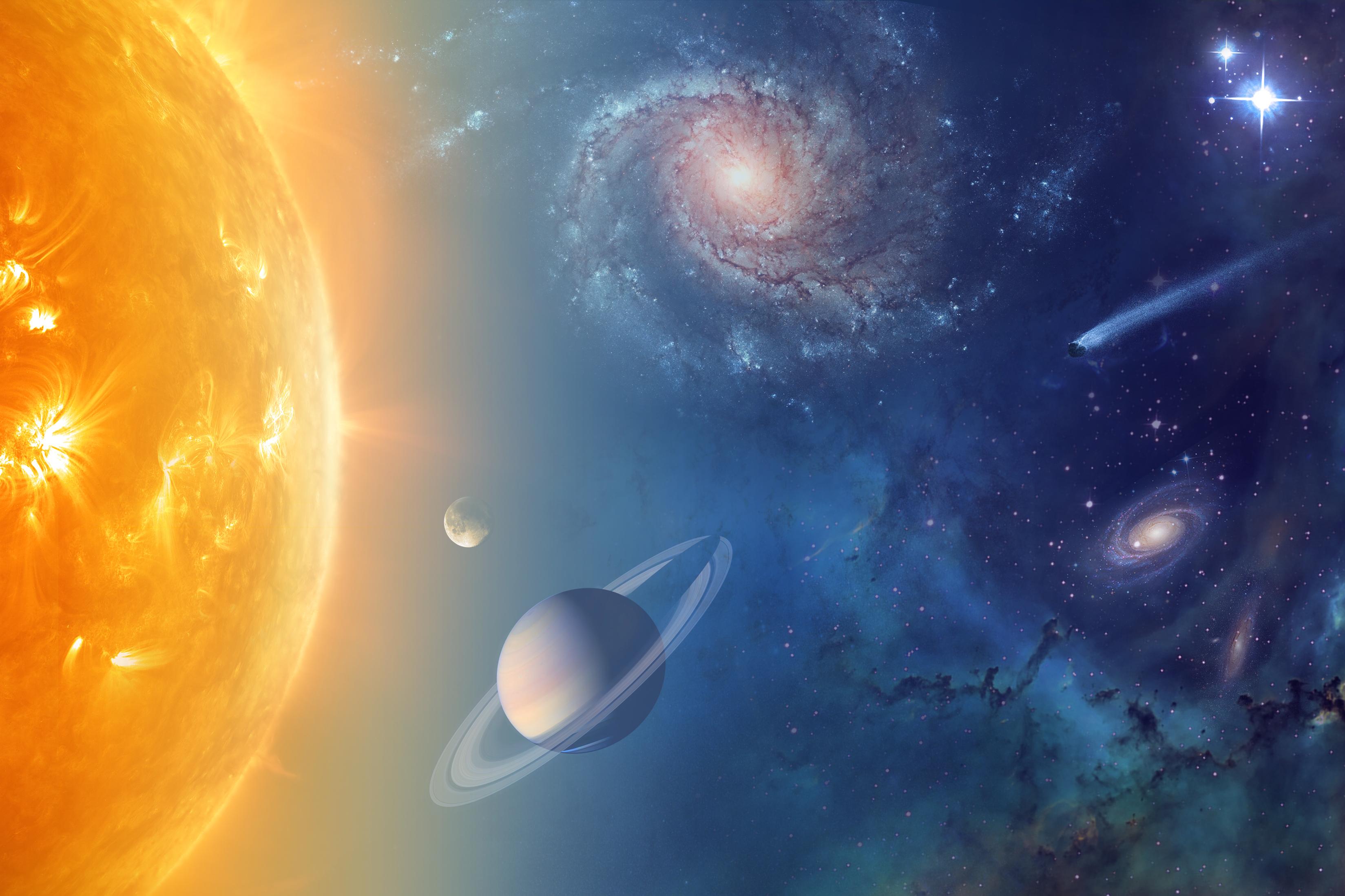 universe solar system stars and galaxies pdf - HD1200×800