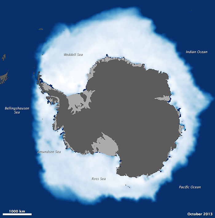 Antarctic Sea Ice Has Not Shrunk In Years Climate ...