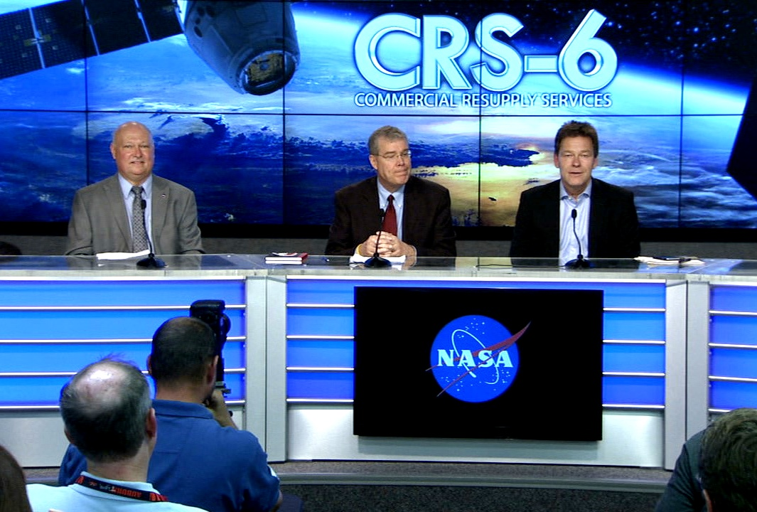 spacex 6 post launch news conference