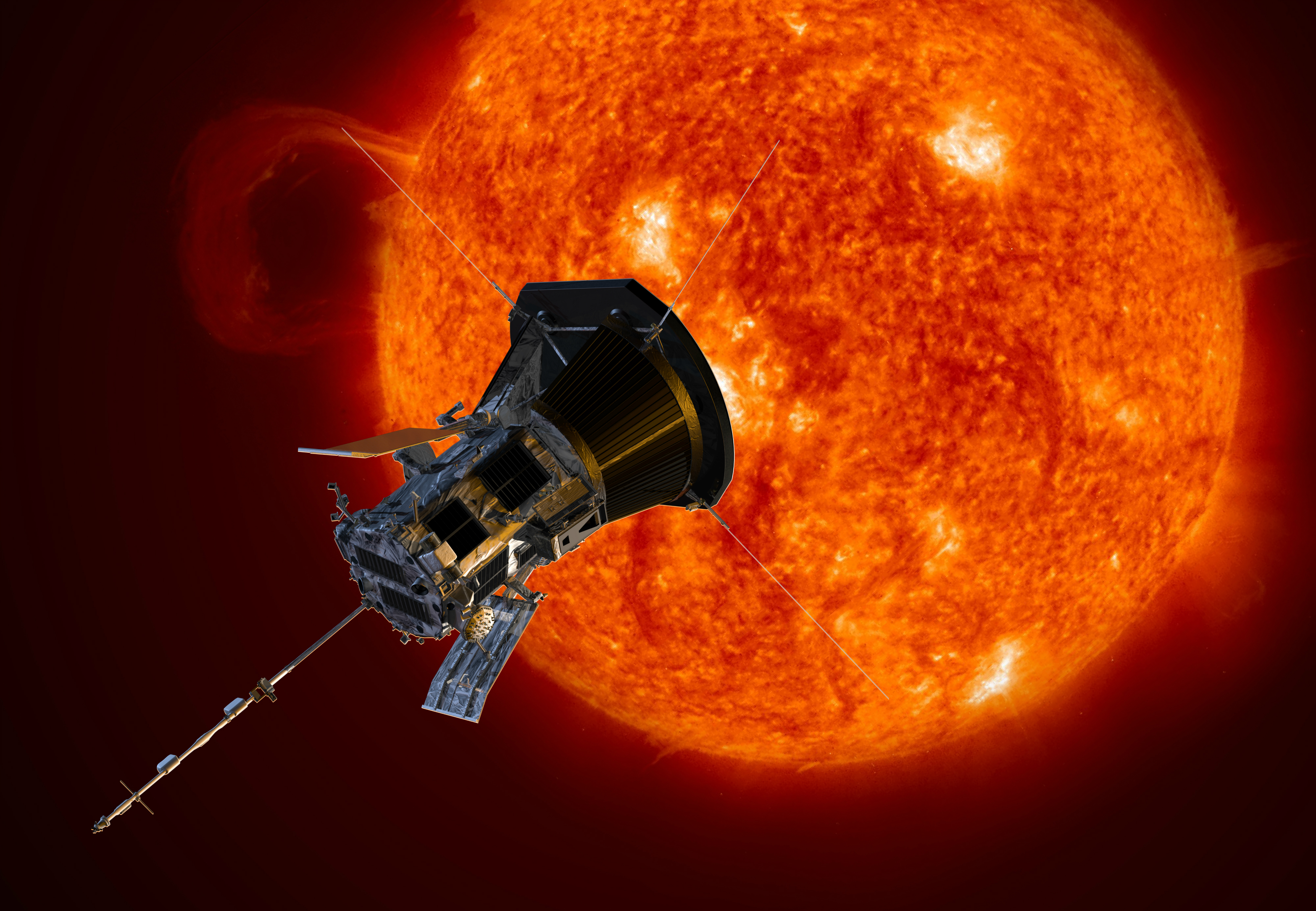 """Résultat de recherche d'images pour """"parker solar probe"""""""