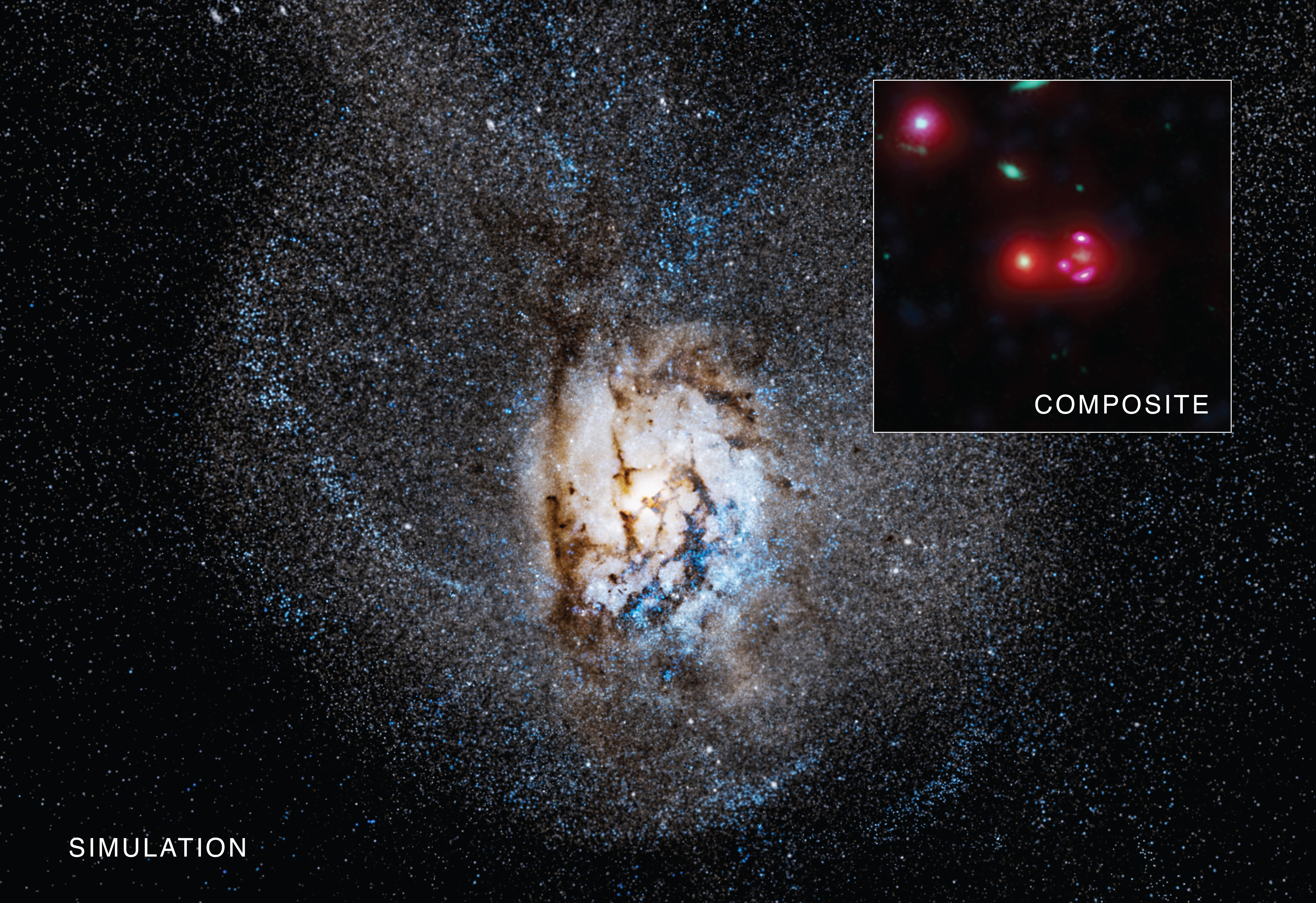 61cdfb1b85c5 Distant Galaxy Churning Out Stars at Remarkable Rate