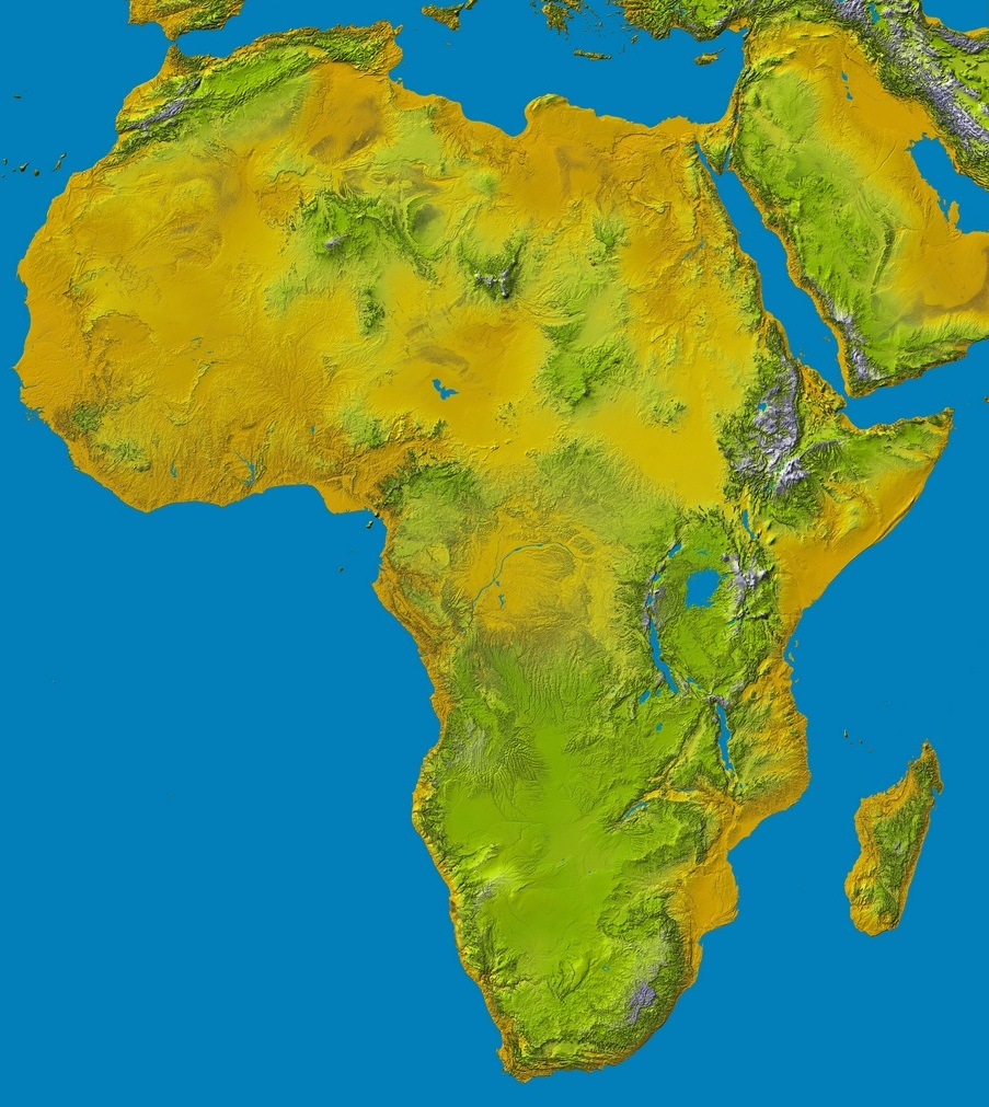 Shuttle land elevation data to aid global climate resilience nasa srtm2africag ccuart Images