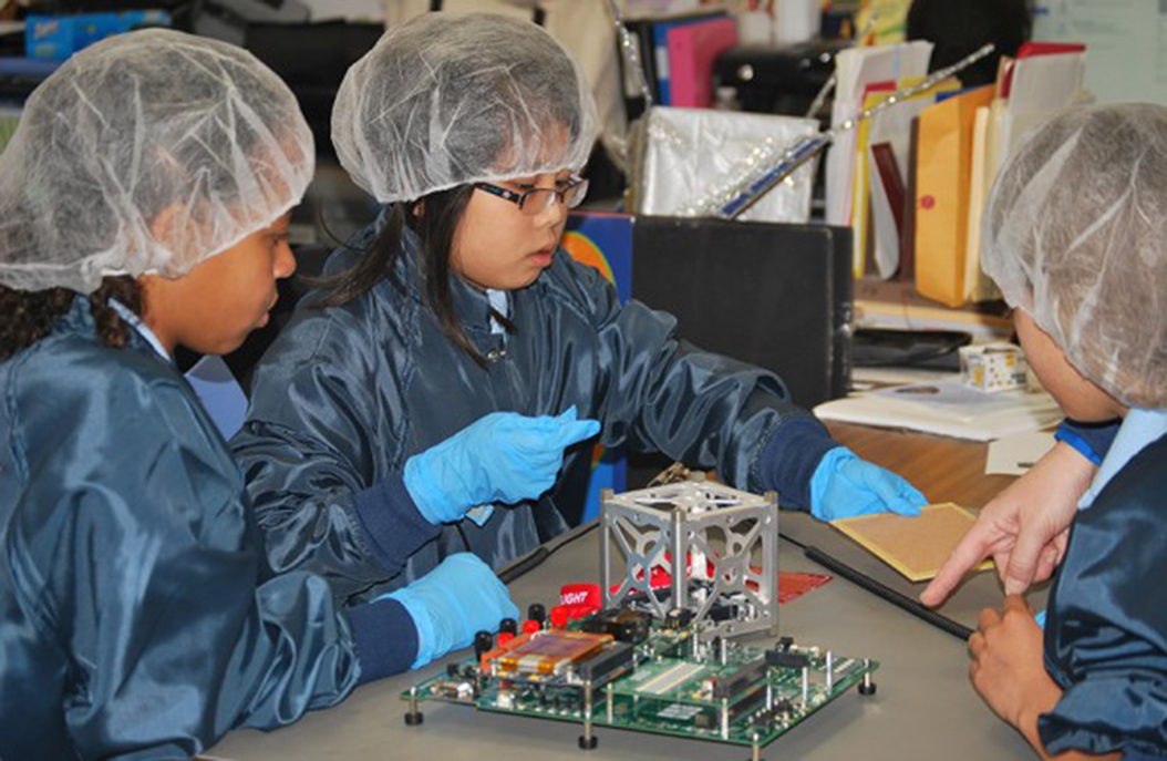First CubeSat Built By An Elementary School Deployed Into