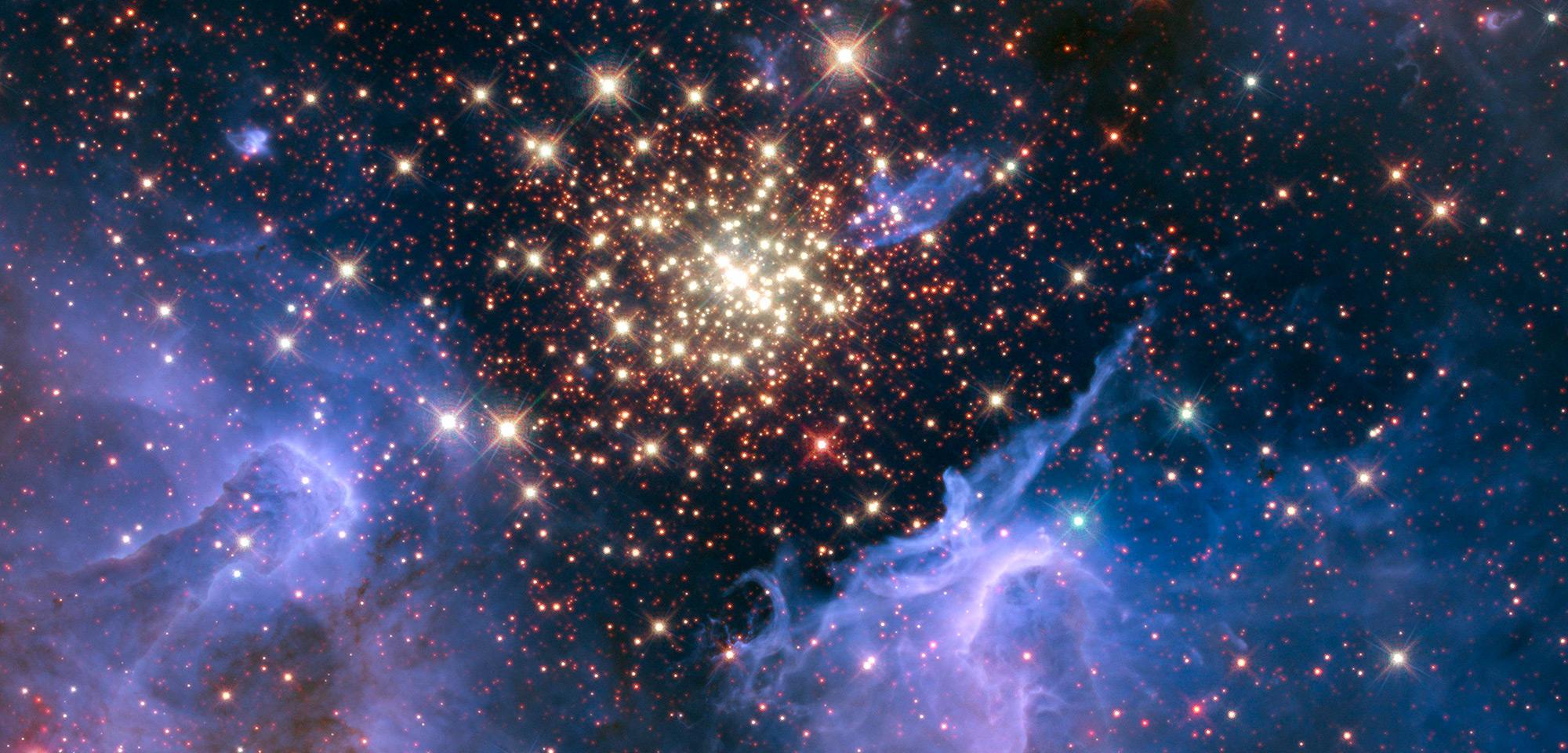 Burst of Celestial Fireworks