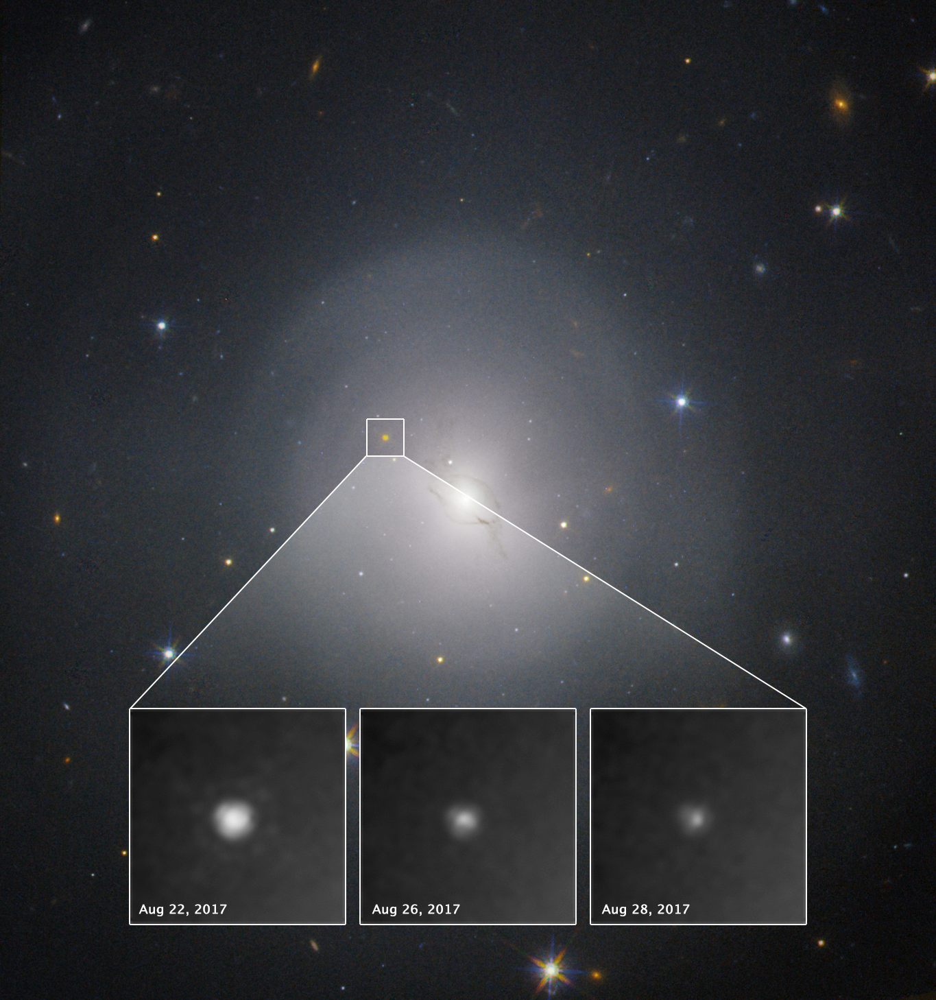 NASA's Hubble Studies Source of Gravitational Waves