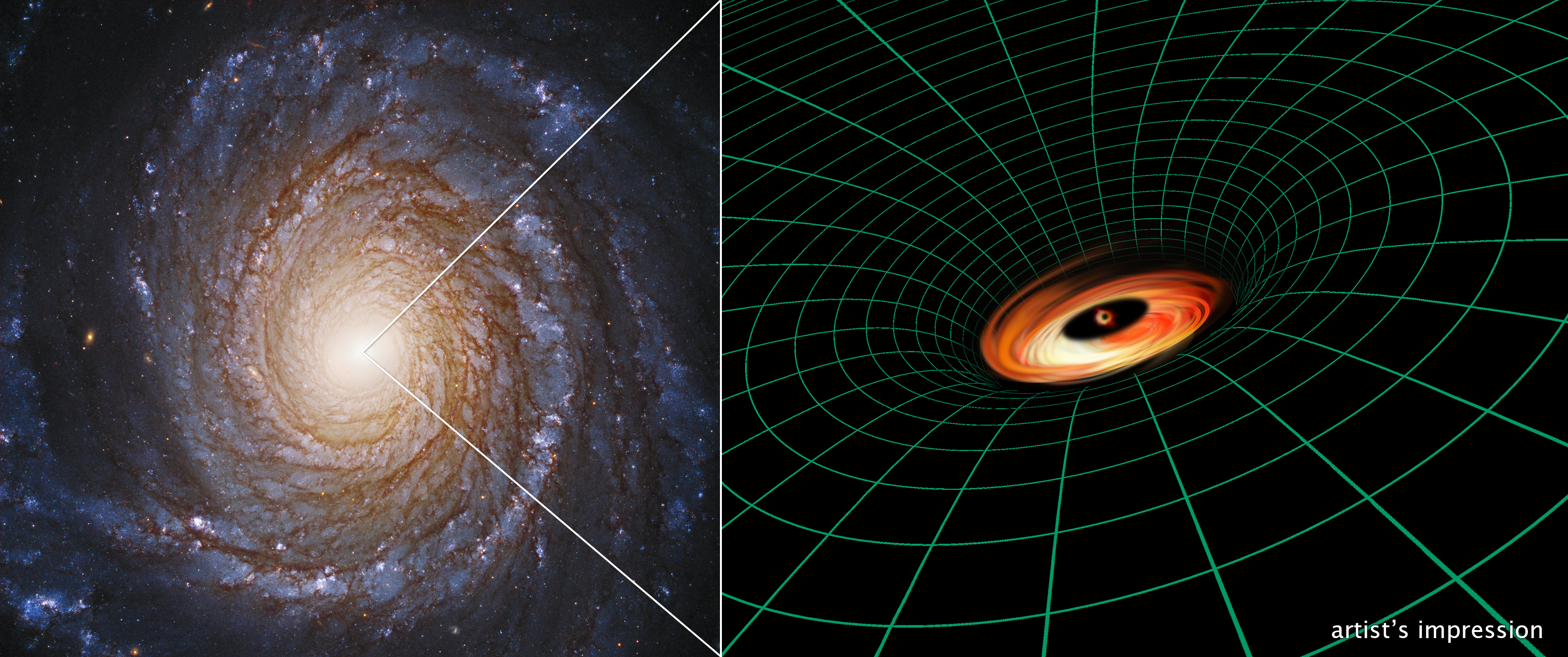 Hubble Uncovers Black Hole Disk that Shouldn't Exist