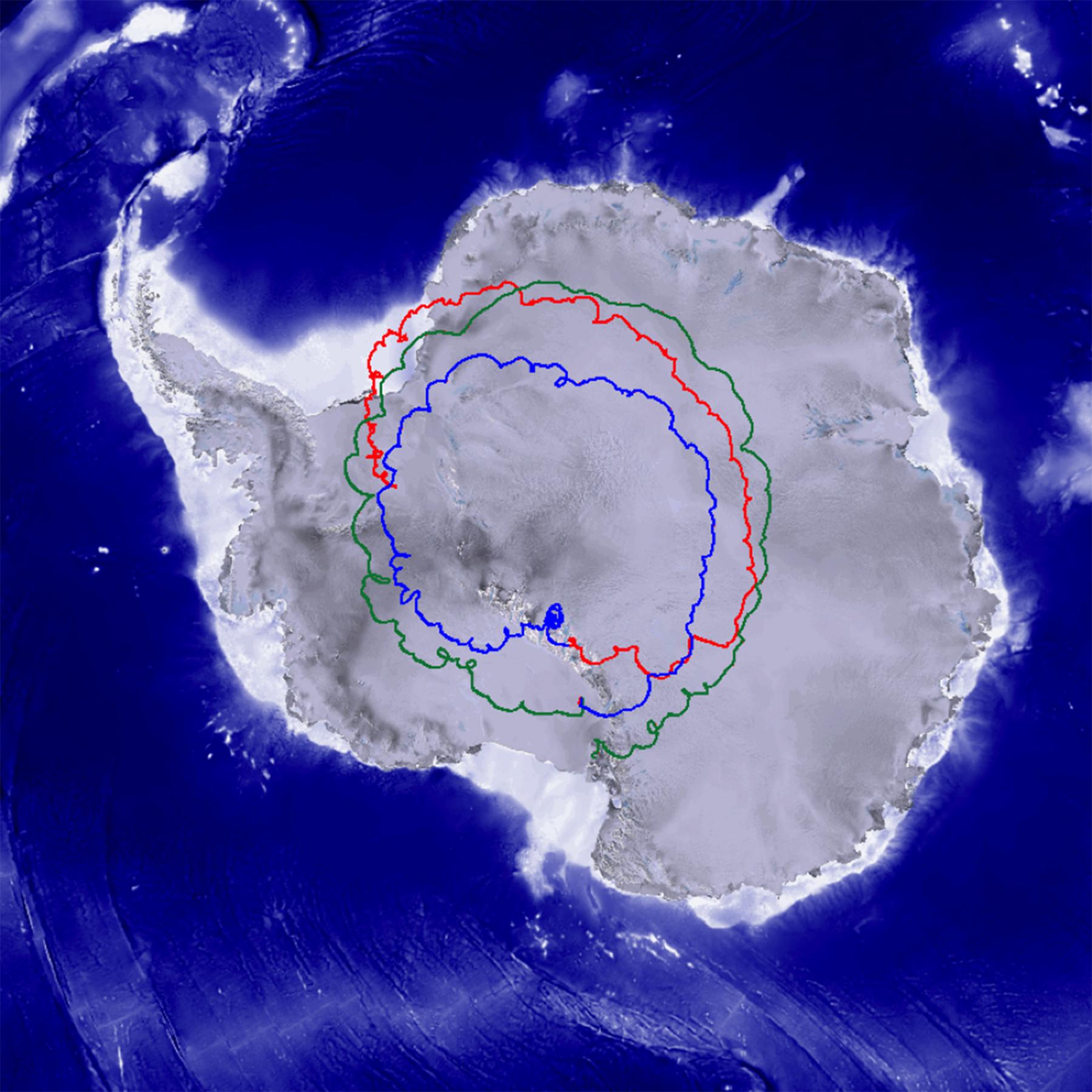 antarctic anticyclone sending two nasa scientific balloons flying