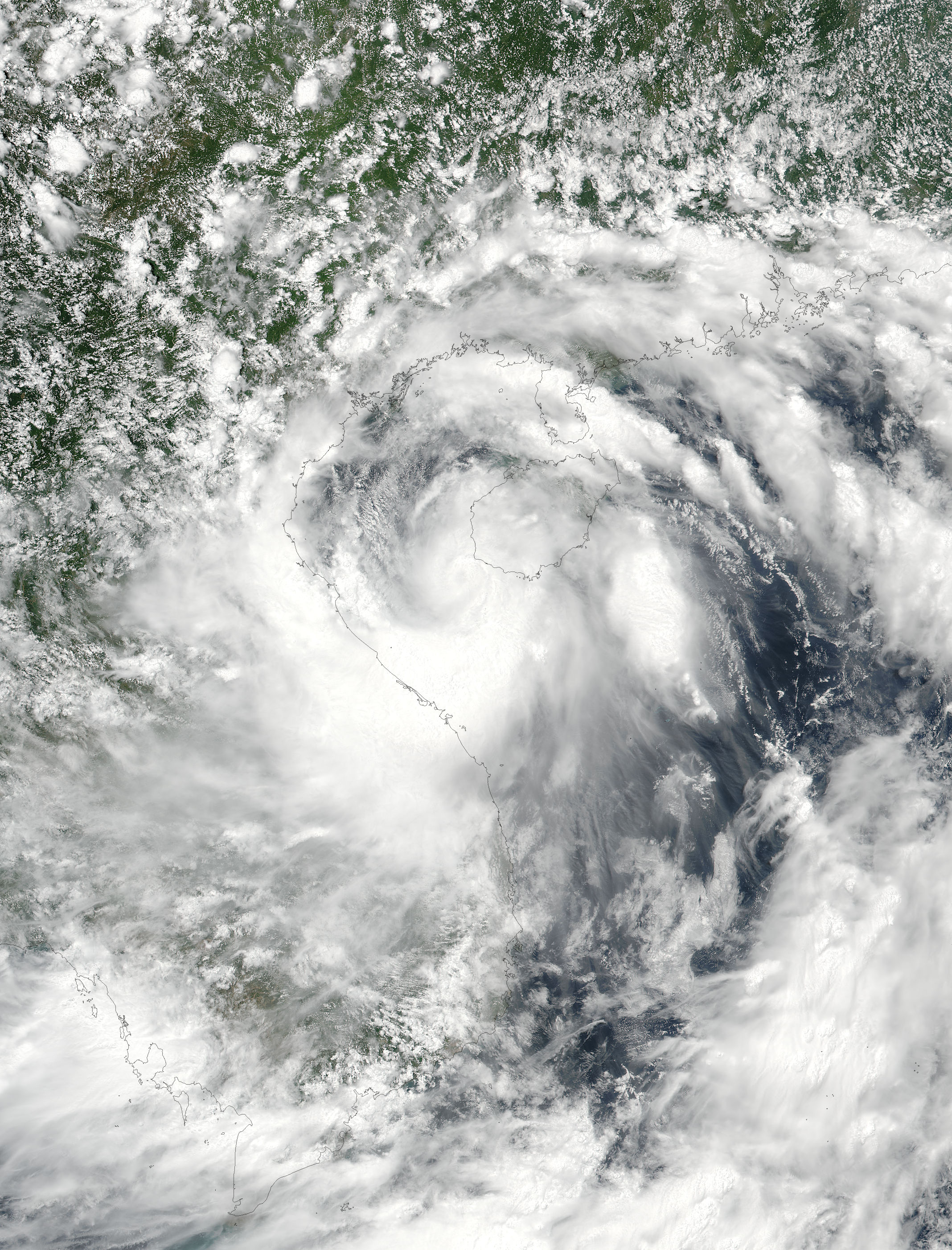 NASA Eyes Short-lived Tropical Storm Talas