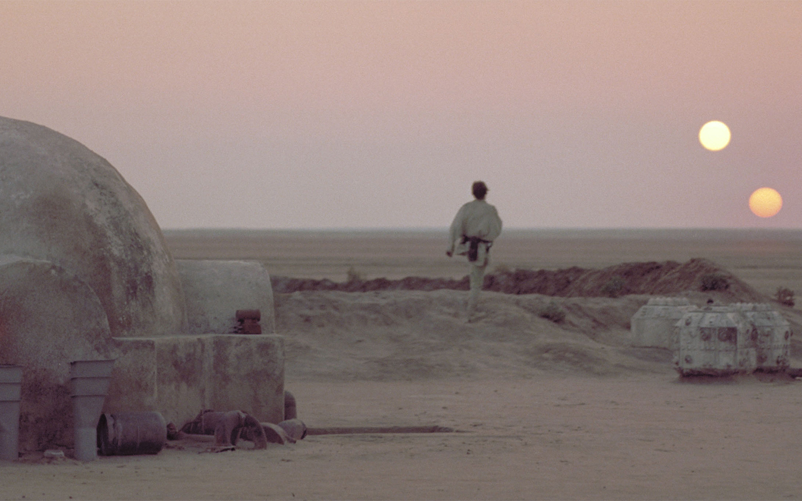 Gmail planets theme - Tatooine From Star Wars