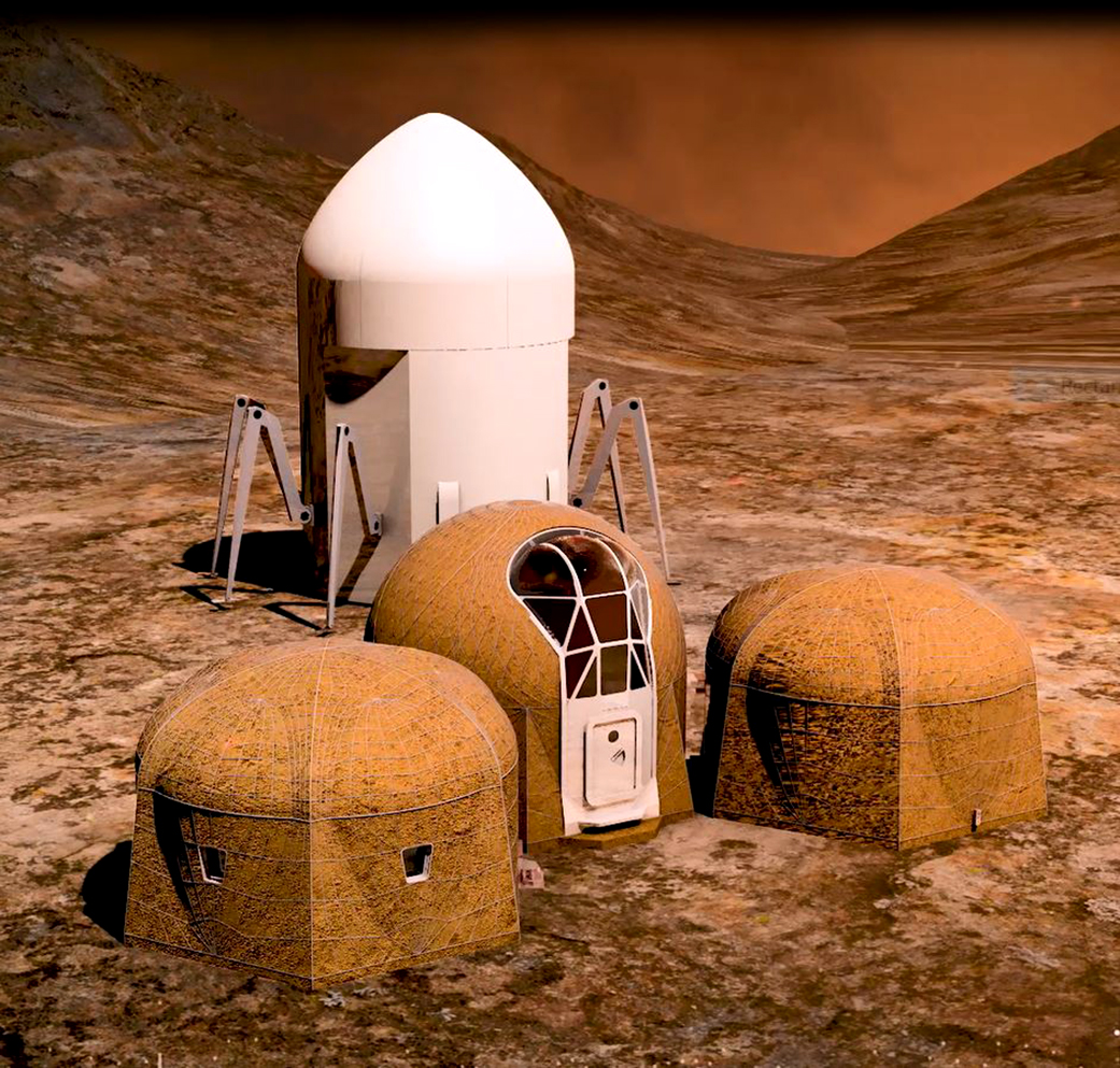 Five Teams Win A Share Of 100 000 In 3d Printed Habitat