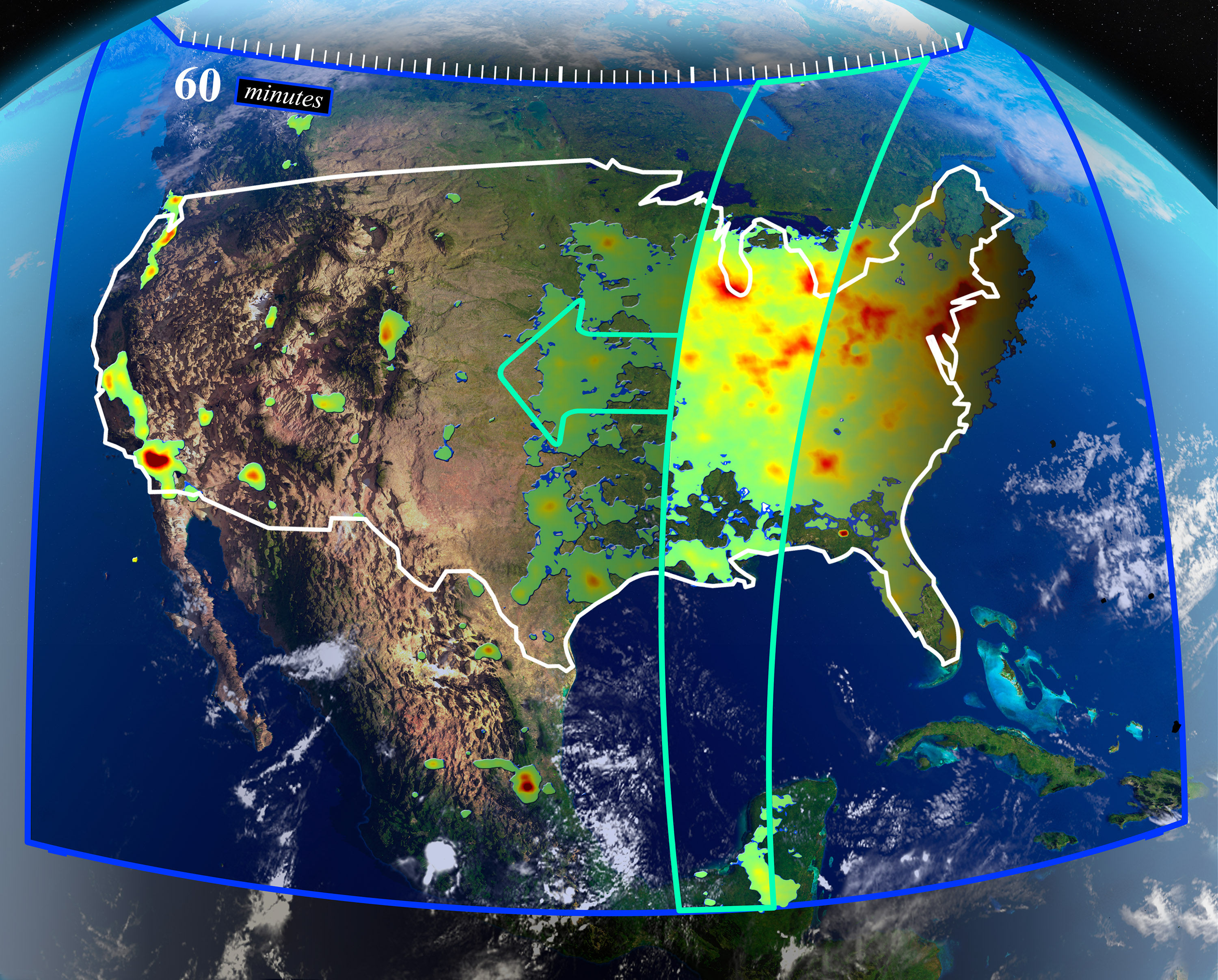 The Future Of Monitoring Air Quality From Space NASA - Air pollution map north america