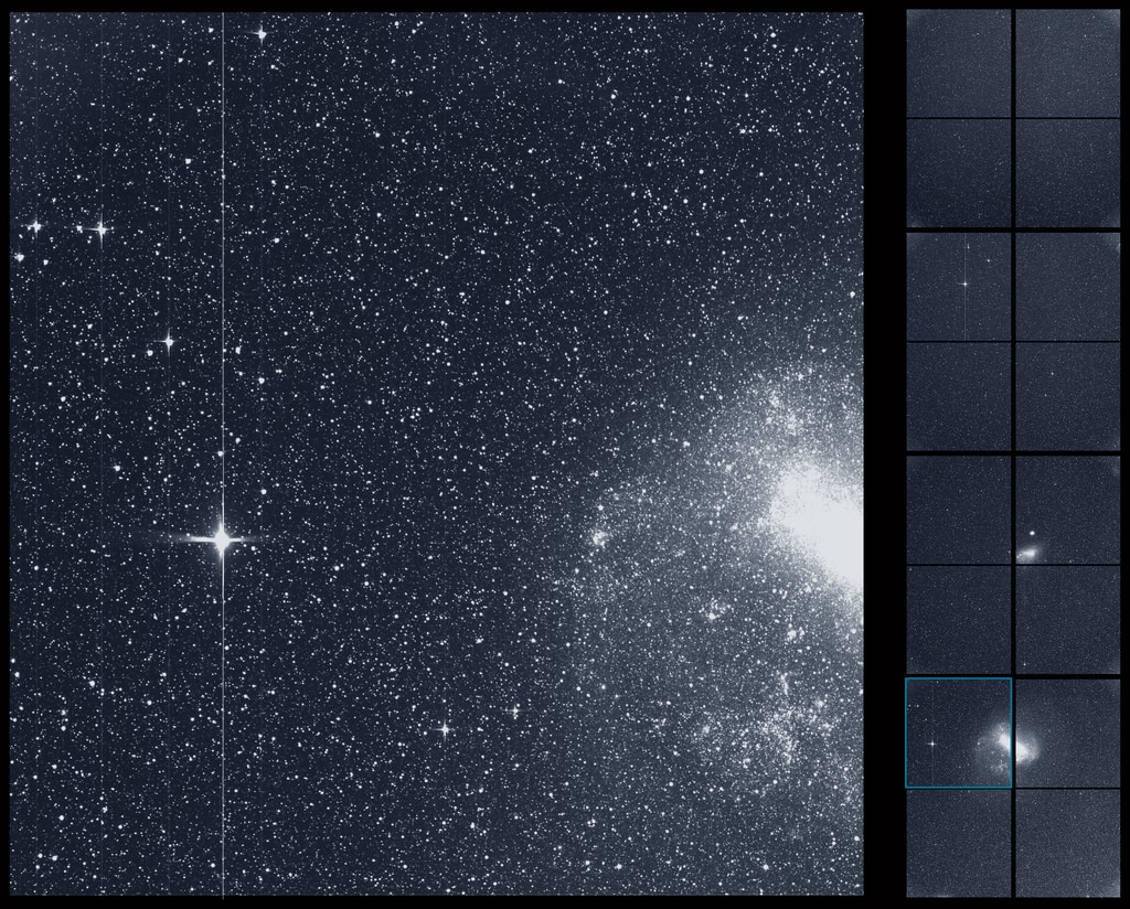NASA's TESS Shares First Science Image in Hunt to Find New Worlds Tessflleadimageenlarged_print