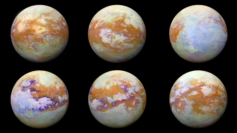 """Científicos de la NASA descubren una molécula """"extraña"""" en la atmósfera de Titán."""