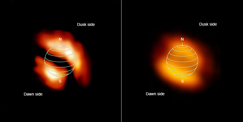 Nasa Led Study Sees Titan Glowing At Dusk And Dawn Nasa