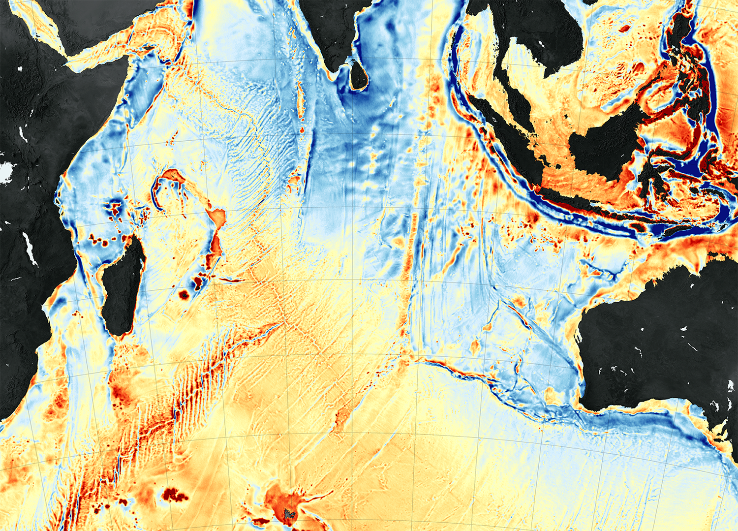 New Seafloor Map Helps Scientists Find New Features  NASA
