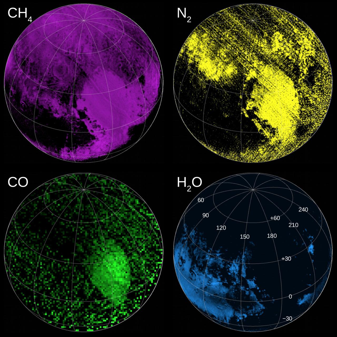 New Horizons Top 10 Pluto Pics Nasa