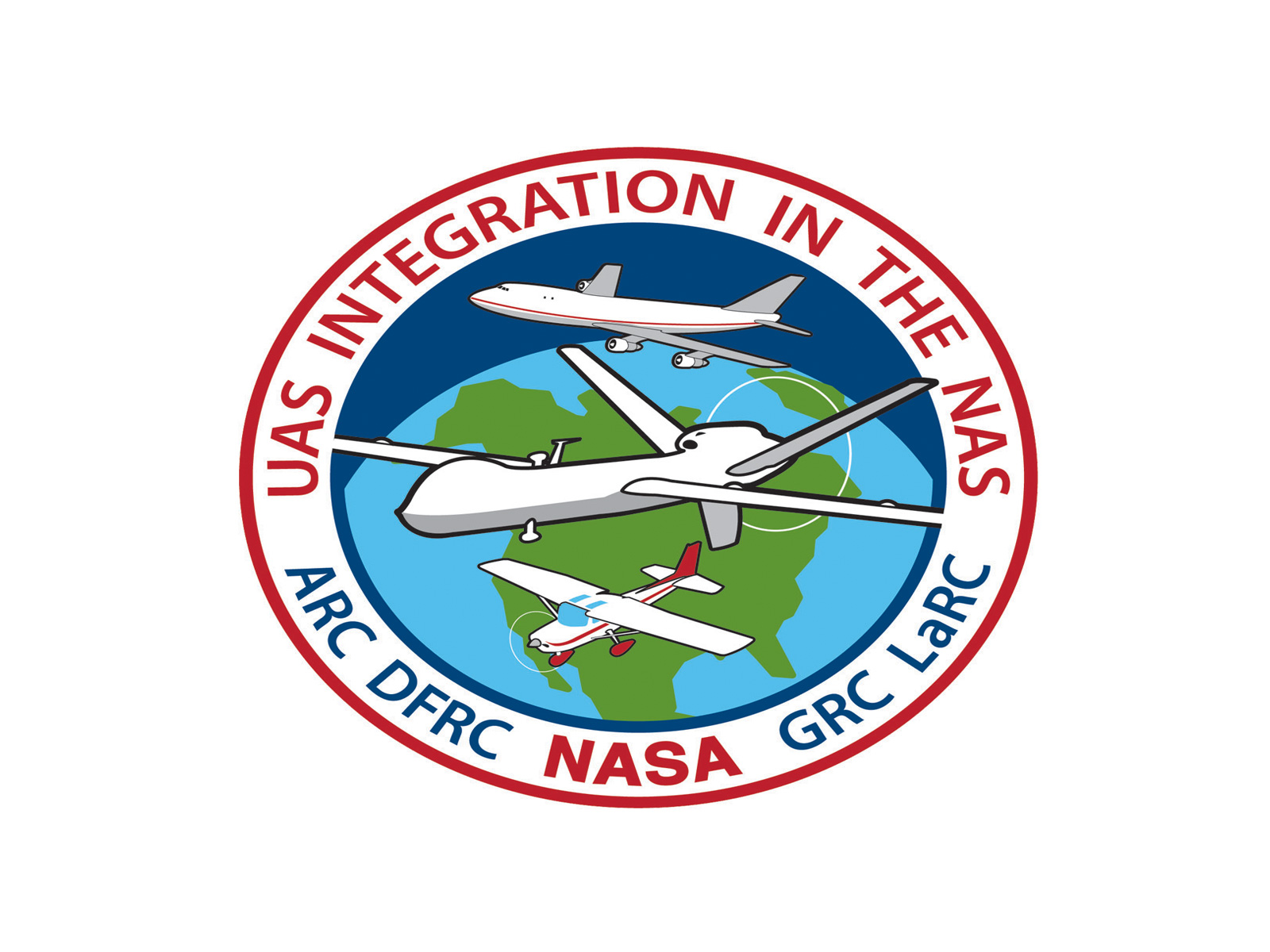 Logo unmanned aircraft systems uas integration in the national national airspace system nas logo uas in the nas publicscrutiny Choice Image