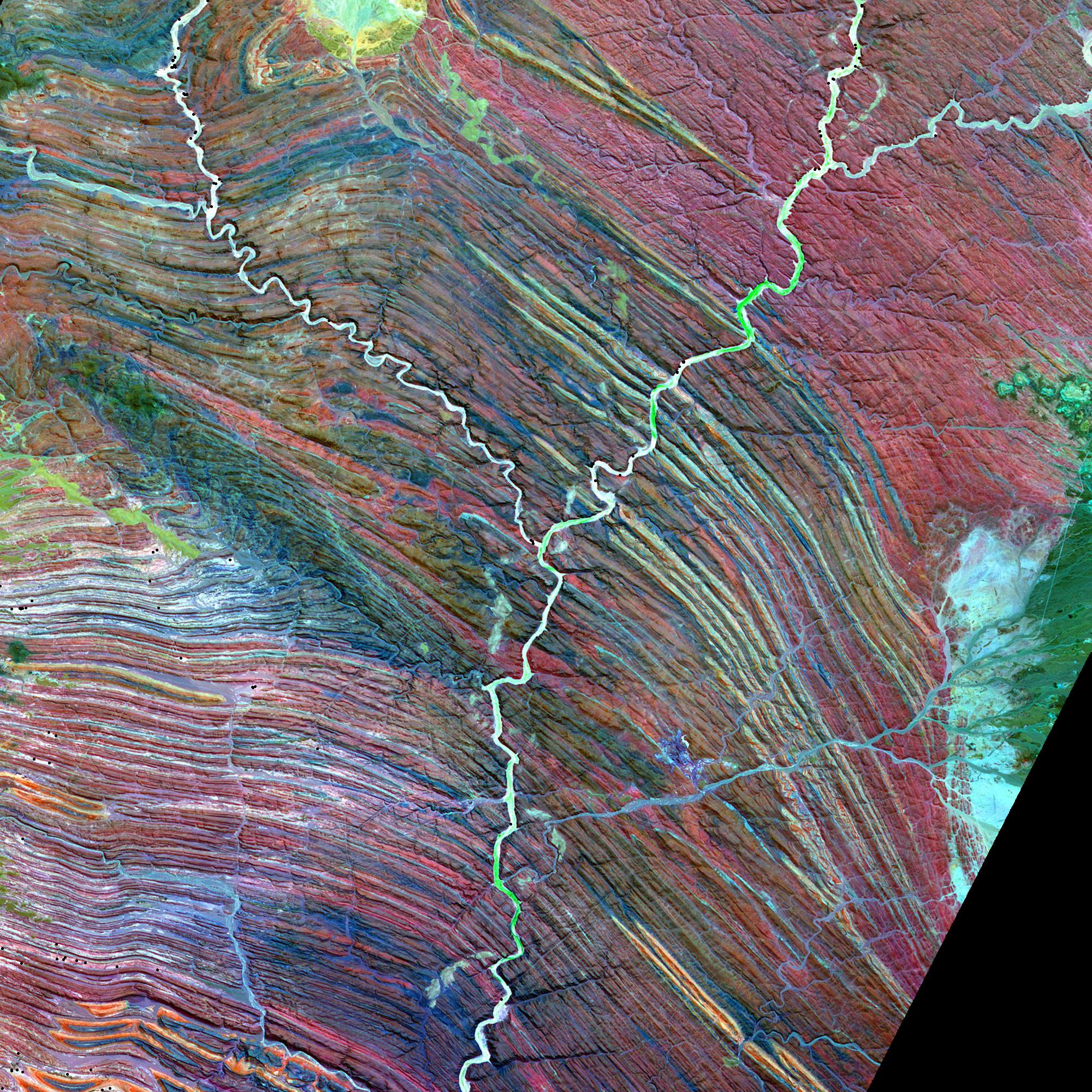 Jack Hills Australia NASA - Us map aster