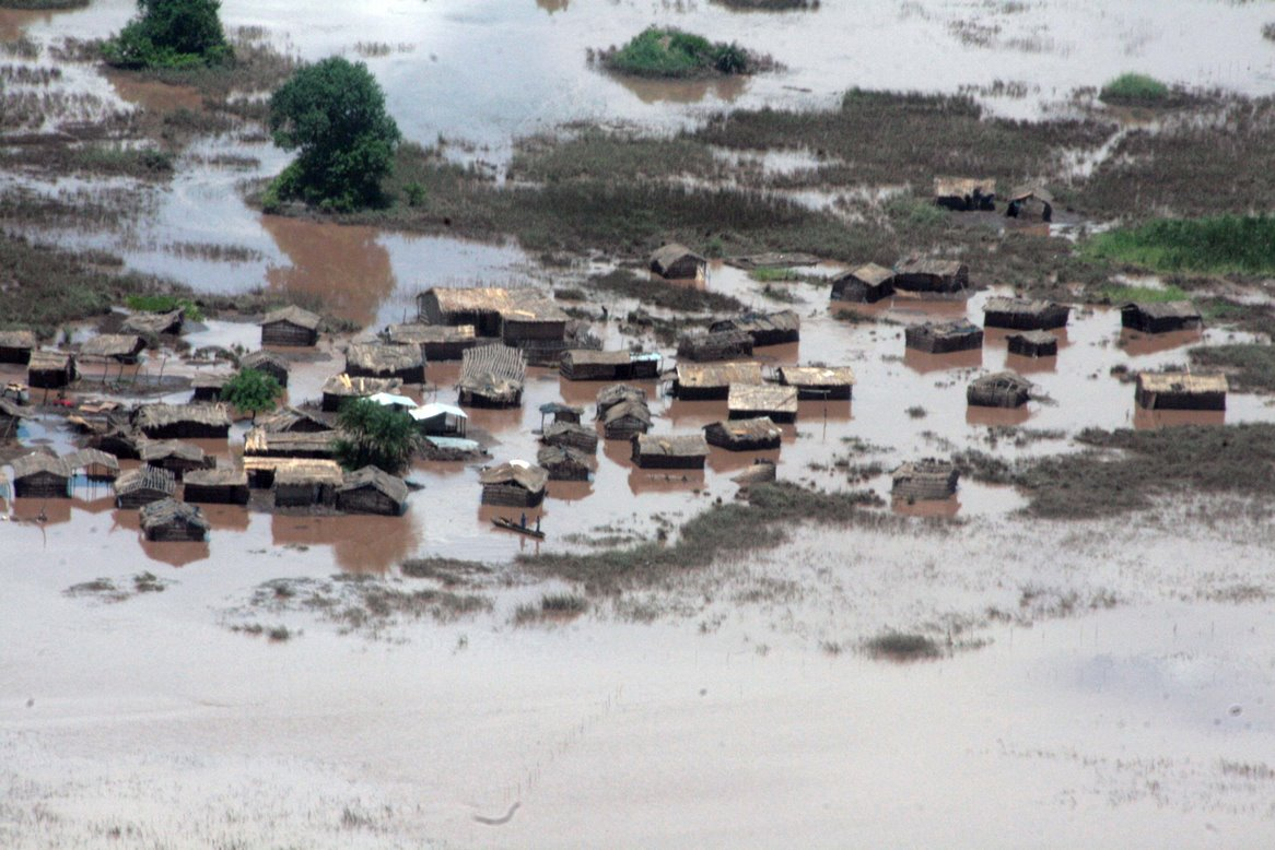 Flooding In Malawi In January 2015 Submerged Houses And Farmland