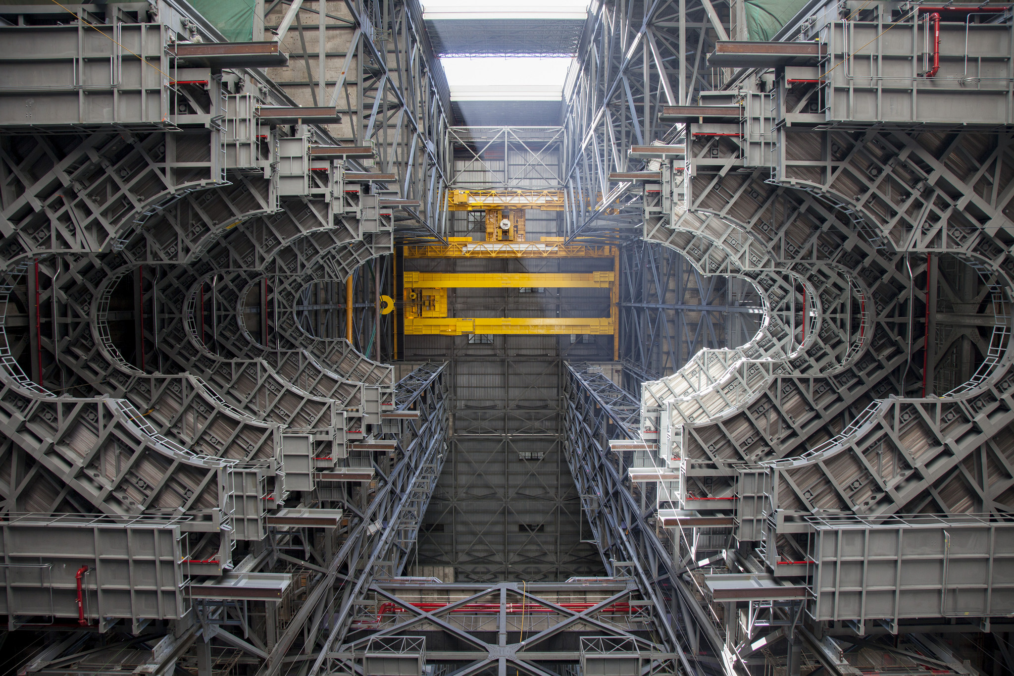Platform Installation Midpoint Reached At Kennedy Space