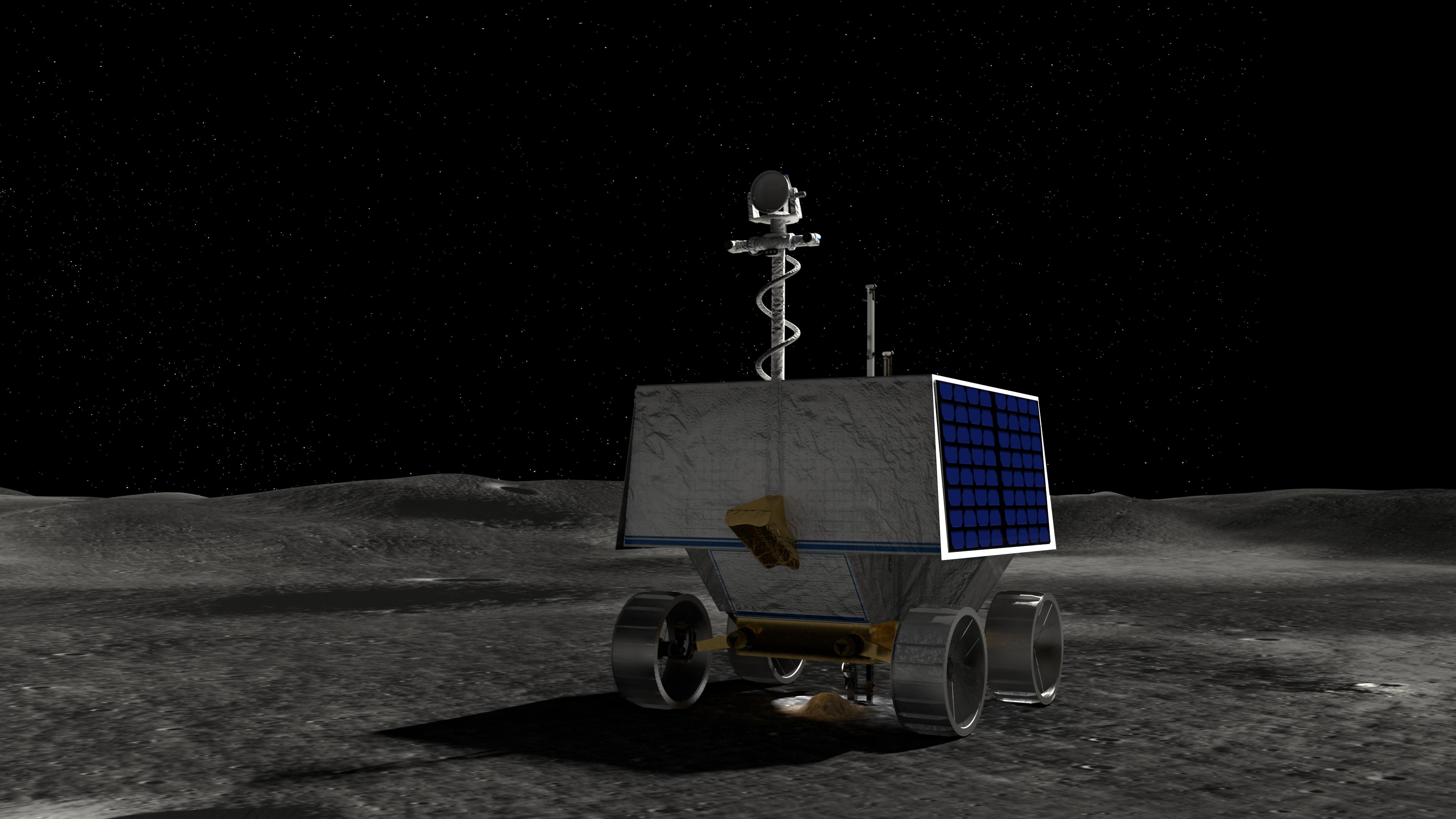 NASA to Announce Landing Site for Artemis Lunar Robotic Rover   NASA