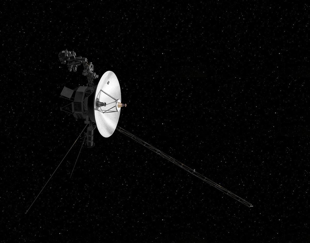 voyager spacecraft nasa. Black Bedroom Furniture Sets. Home Design Ideas