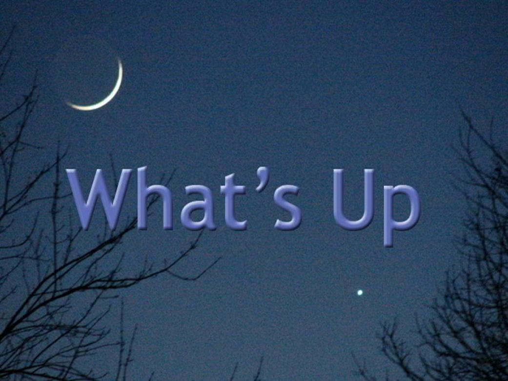 What's Up - December 2018 | NASA
