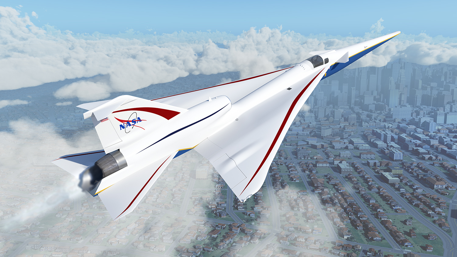 NASA Tests System for Precise Aerial Positioning in Supersonic Flight