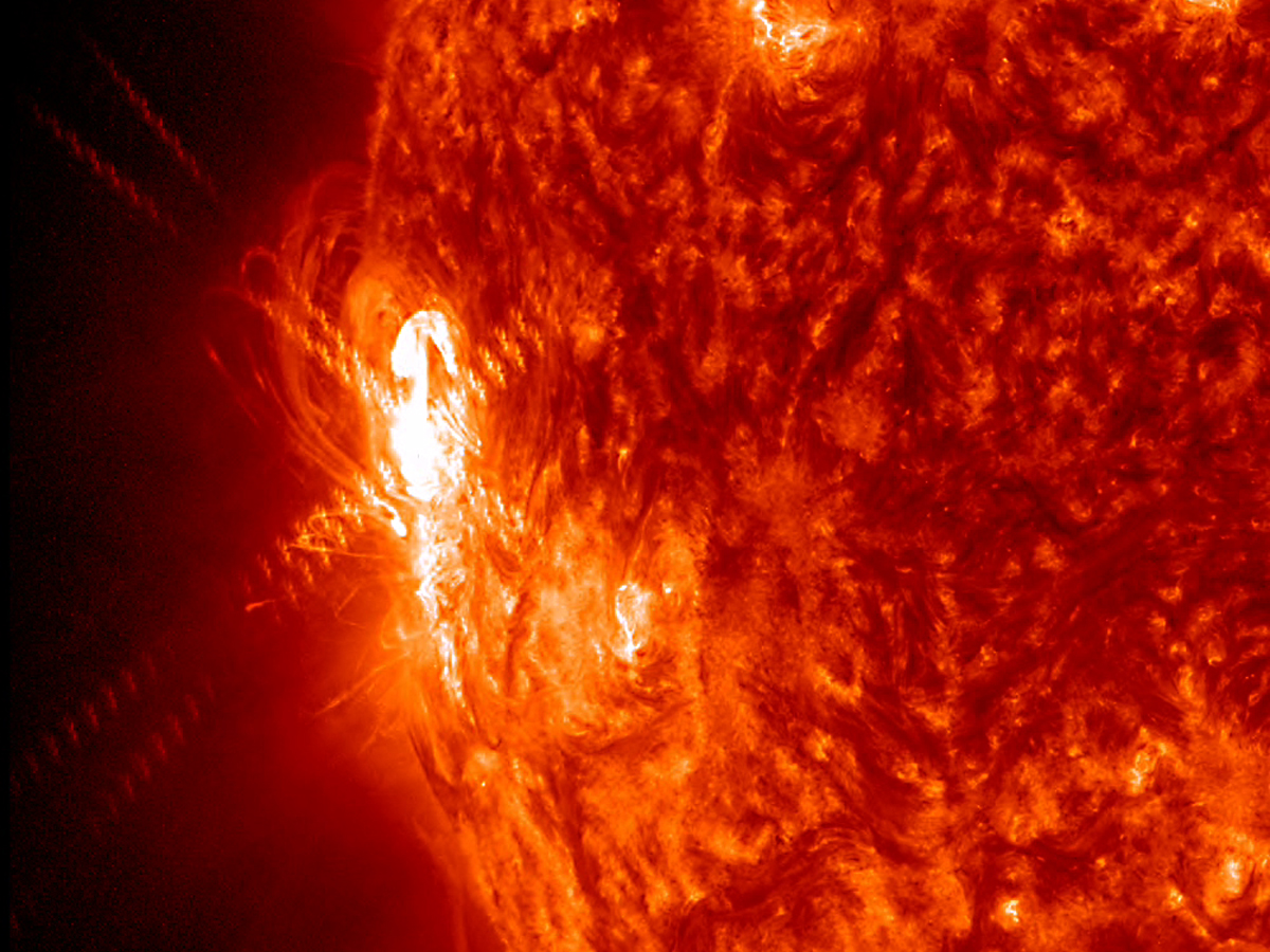 solar flares today nasa warning - photo #12