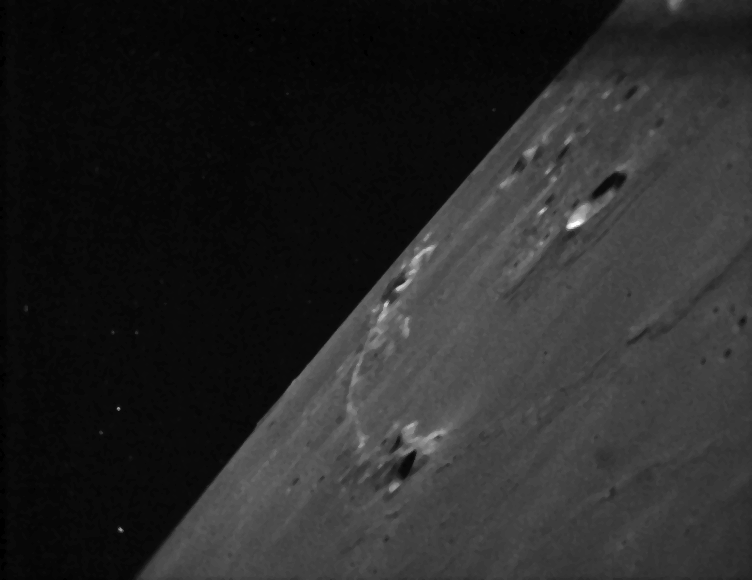 LADEE Sends Its First Images of the Moon Back to Earth
