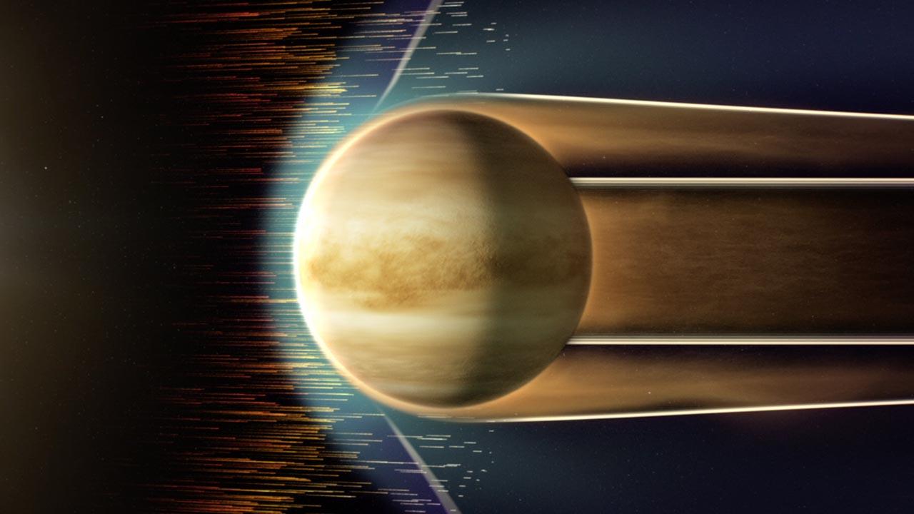 Giant Holes Seen in Venus' Ionosphere | NASA