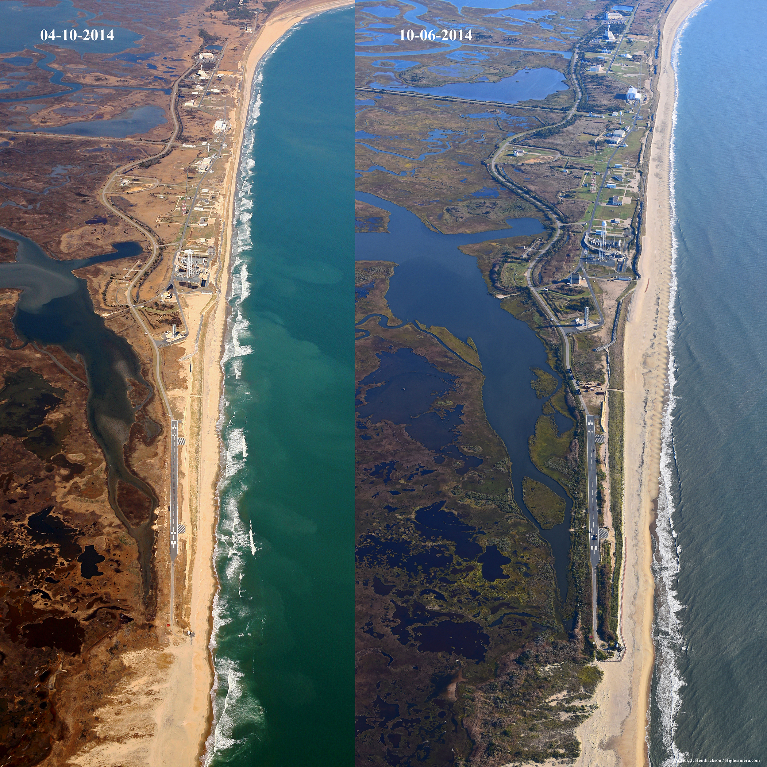 Sandy Beach: Post-Sandy Beach Restoration Project Wraps Up At NASA