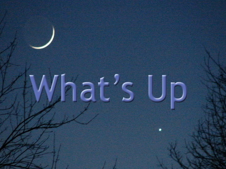 What's Up - April 2015 | NASA