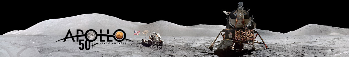 Apollo 17 Eugene Cernan working at the Rover.