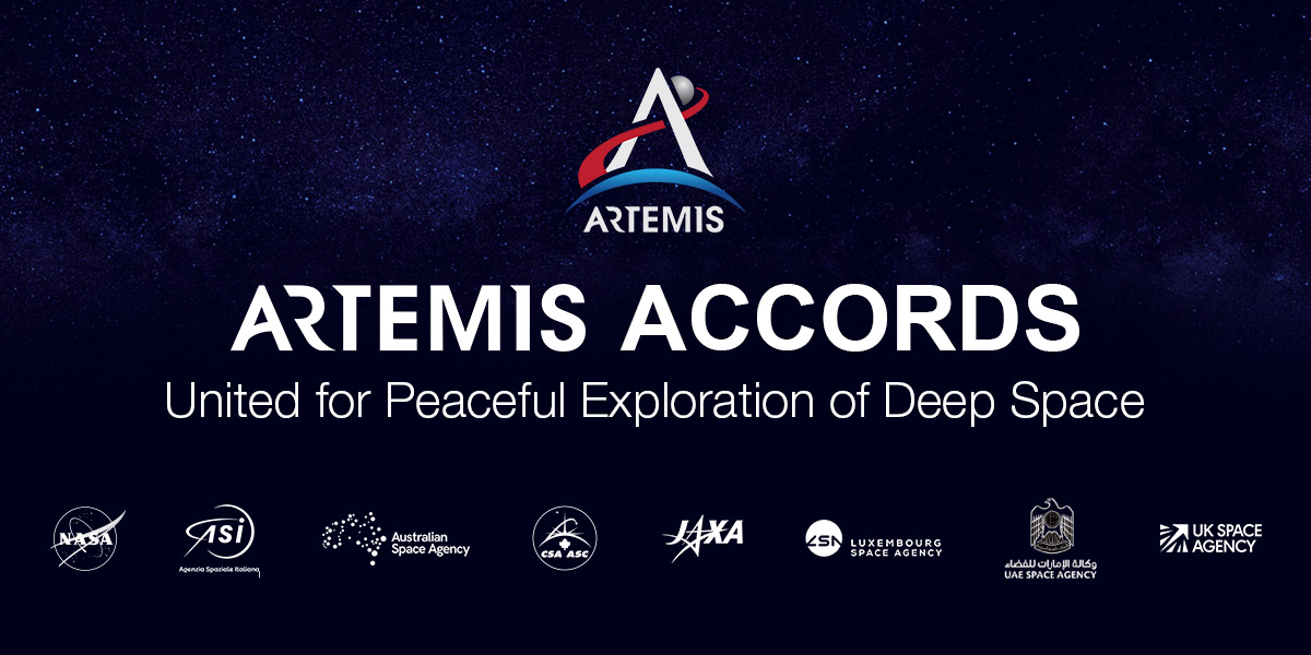 Artemis Accords Registeirng Zones for Resources on the Moon