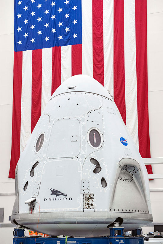 NASA - SpaceX launching first manned crew flight!