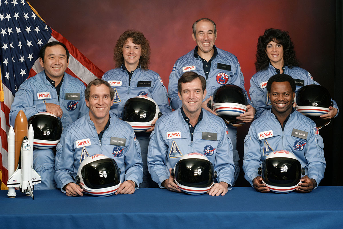 STS-51L Crew Photo