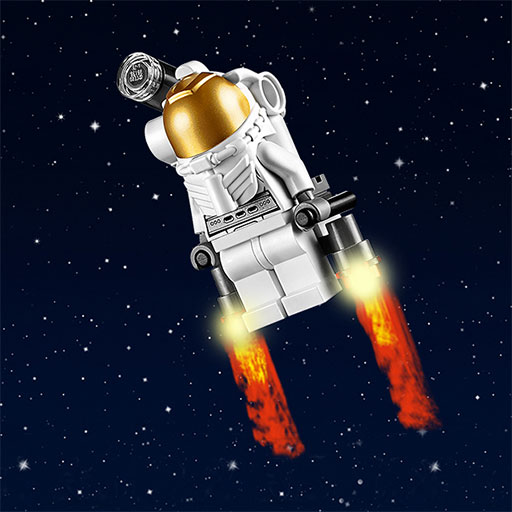 lego astronaut spaceship - photo #36